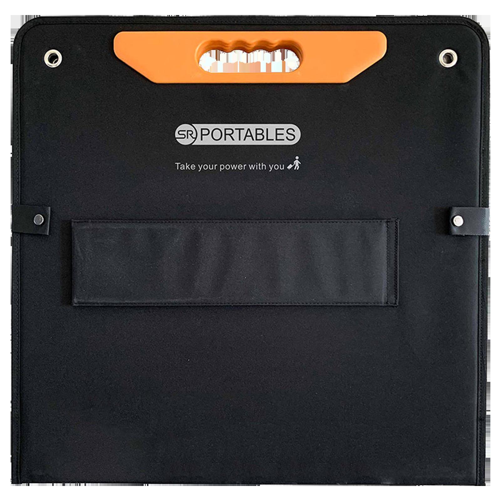 SR Portables 200 Watts Portable Solar Panel (Water Resistant, SRSOLPAN200, Black)_1