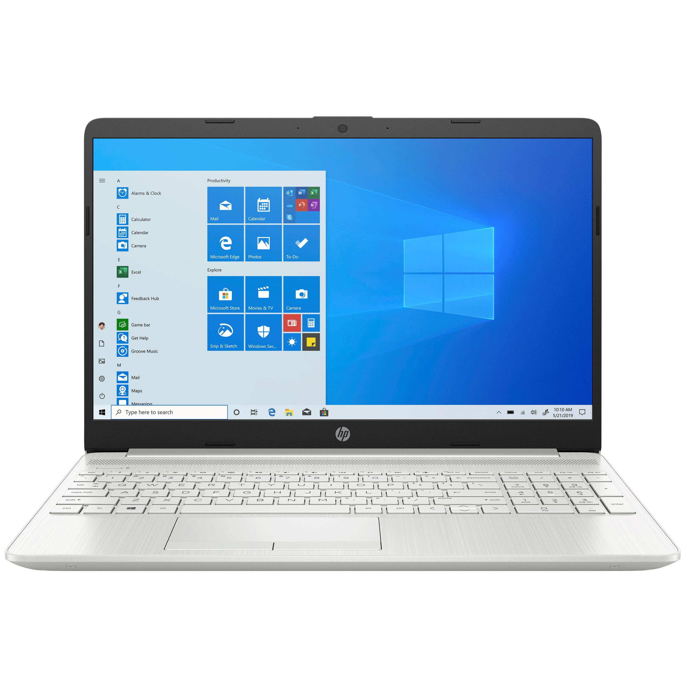 HP 15s-gr0500AU (440L7PA#ACJ) Ryzen 5 Windows 10 Home Laptop (8GB RAM, 512GB SSD, AMD Radeon Vega 8 Graphics, MS Office, 39.62cm, Natural Silver)_1