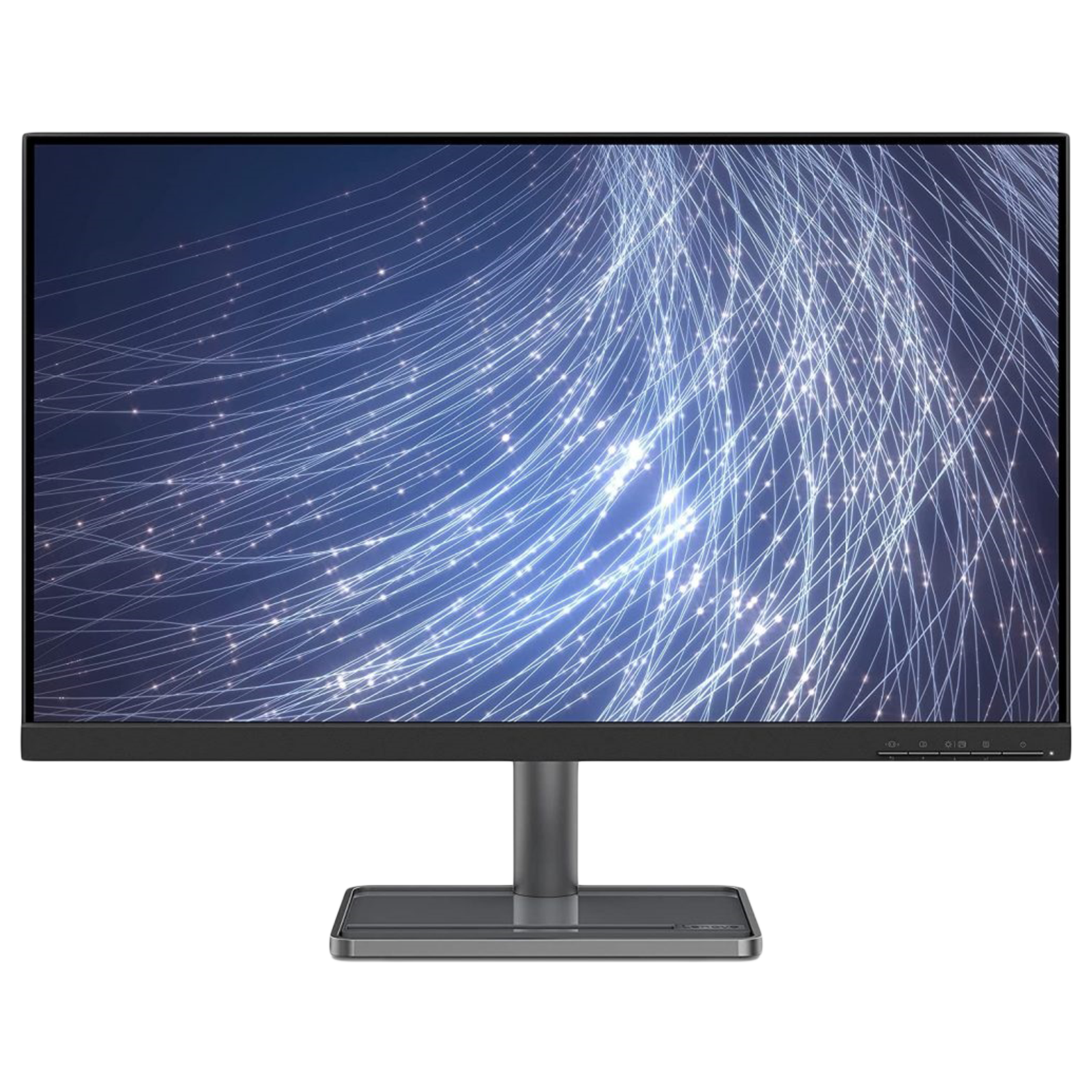 Lenovo L27i-30 68.58cm (27 Inches) Full HD IPS Screen Monitor (AMD FreeSync Technology, HDMI + VGA + Aux, 75 Hz, 66BFKAC2IN, Black)