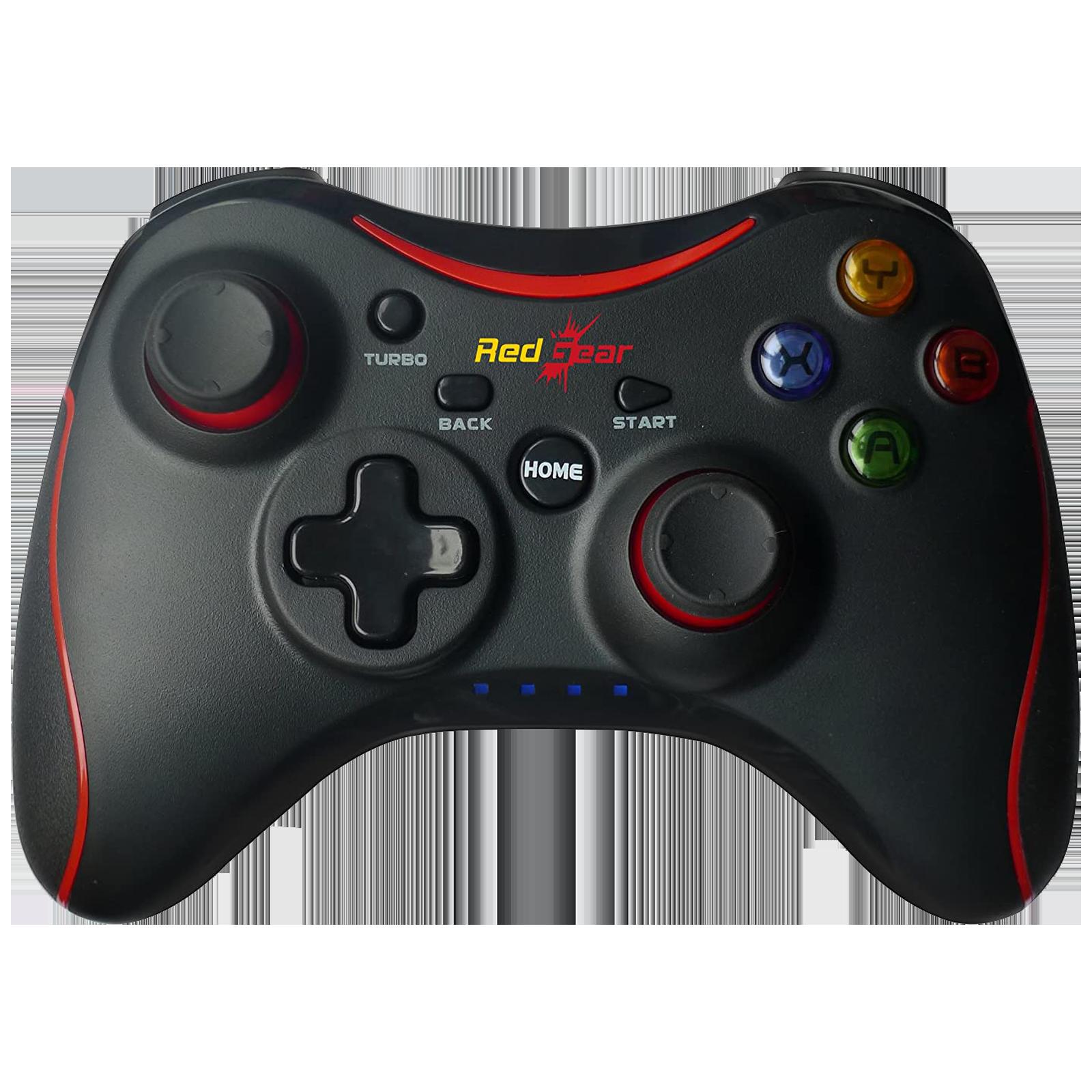 Redgear Pro Wireless Controller for PC (Dual High Intensity Motors, 8904130841989, Black)_1