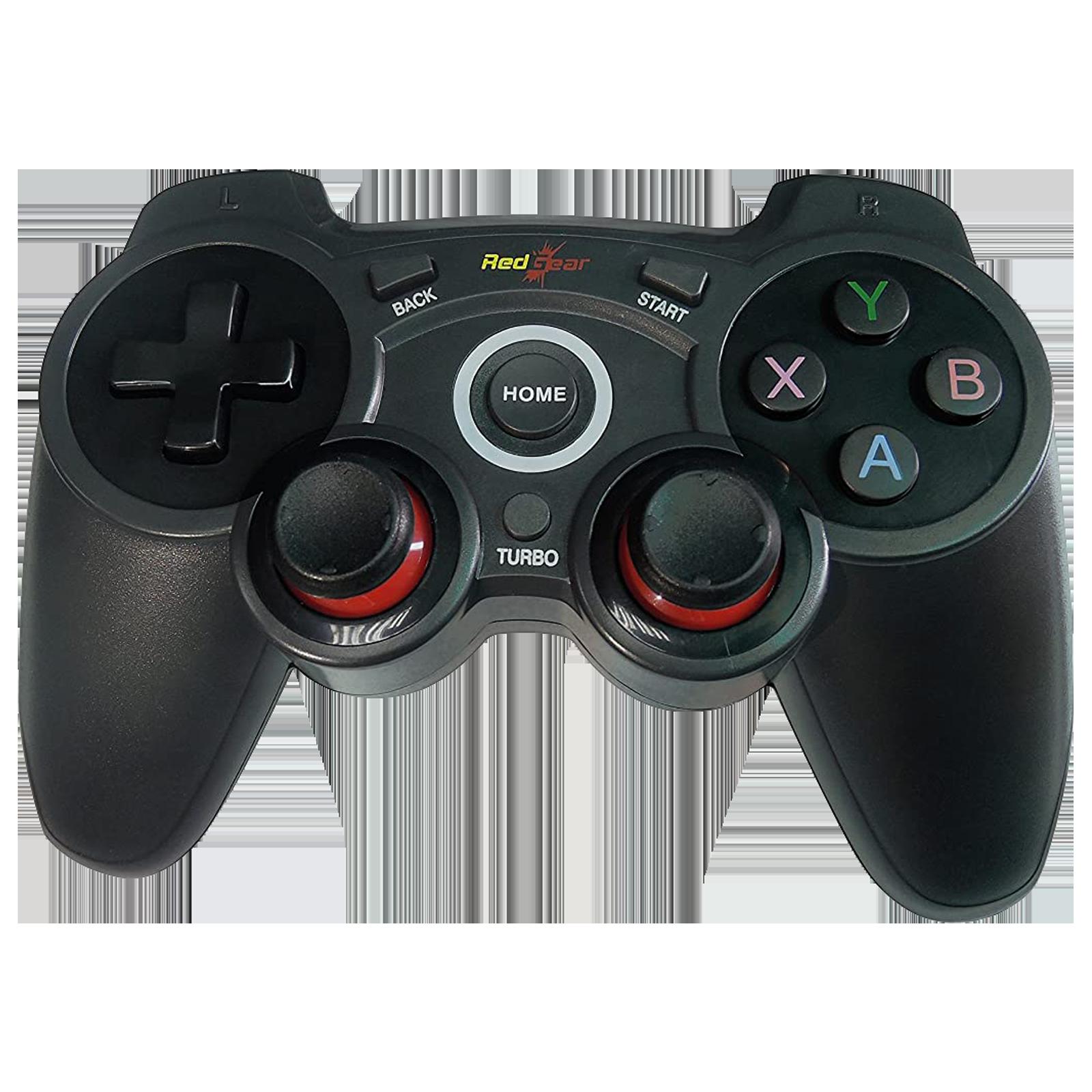 Redgear Wireless Controller for PC (Turbo Mode, Elite, Black)_1