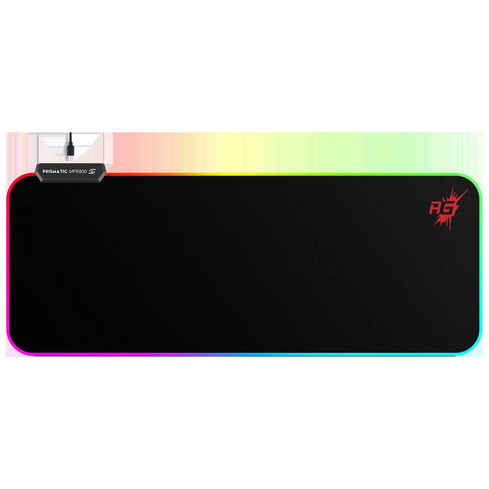 Redgear MPR800 Gaming Mousepad (4 LED Spectrum Modes, 8904130846038, Black)_1