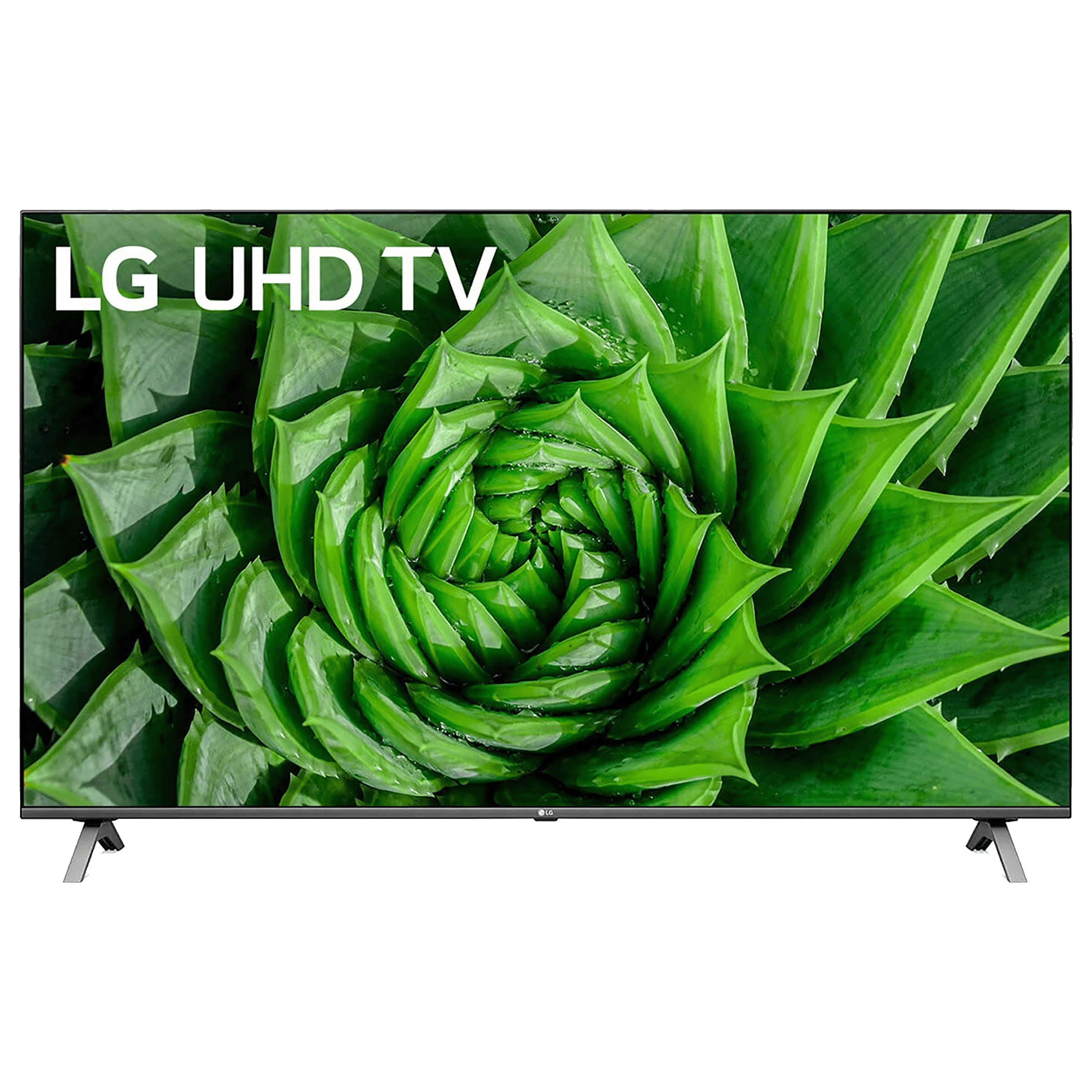 LG UN80 139.7cm (55 Inch) 4K Ultra HD LED OEM Smart TV (55UN8000PTA, Black)_1
