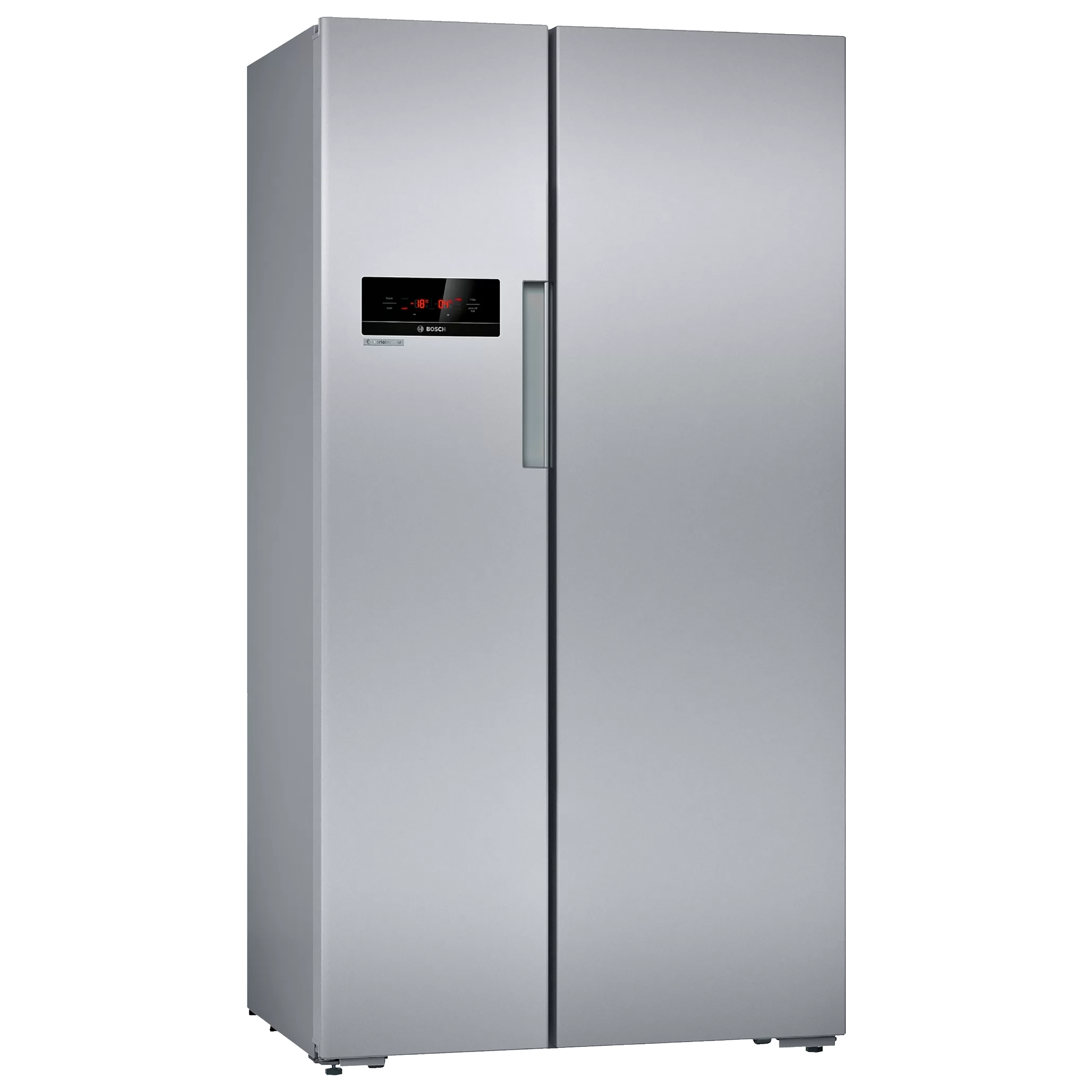 Bosch Serie 2 658 Litres Frost Free Inverter Side-by-Side Door Refrigerator (Multi Airflow System, KAN92VS30I, Silver)_1
