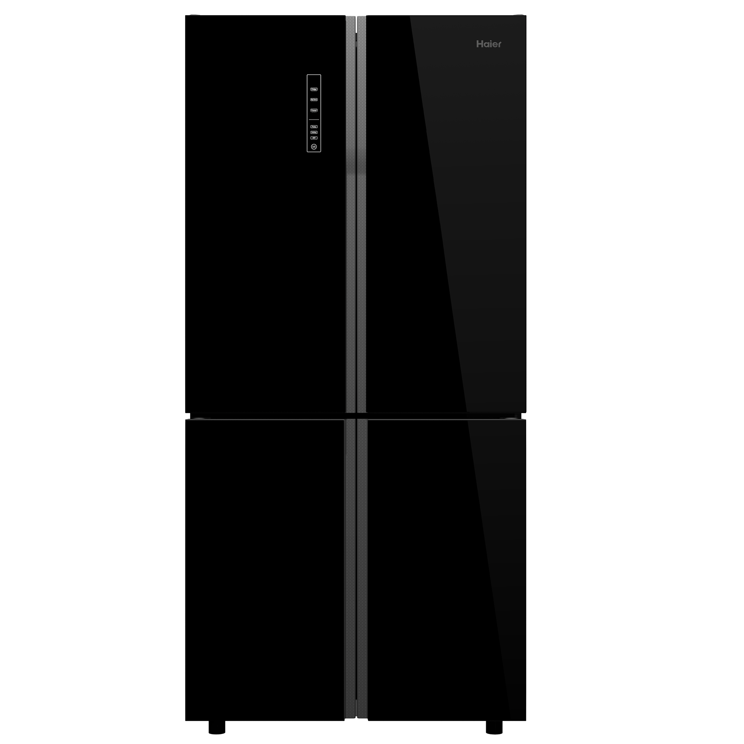 Haier 712 Litres Frost Free Inverter French Door Refrigerator (Super Cool and Super Freeze, HRB-738BG, Black Glass)_1