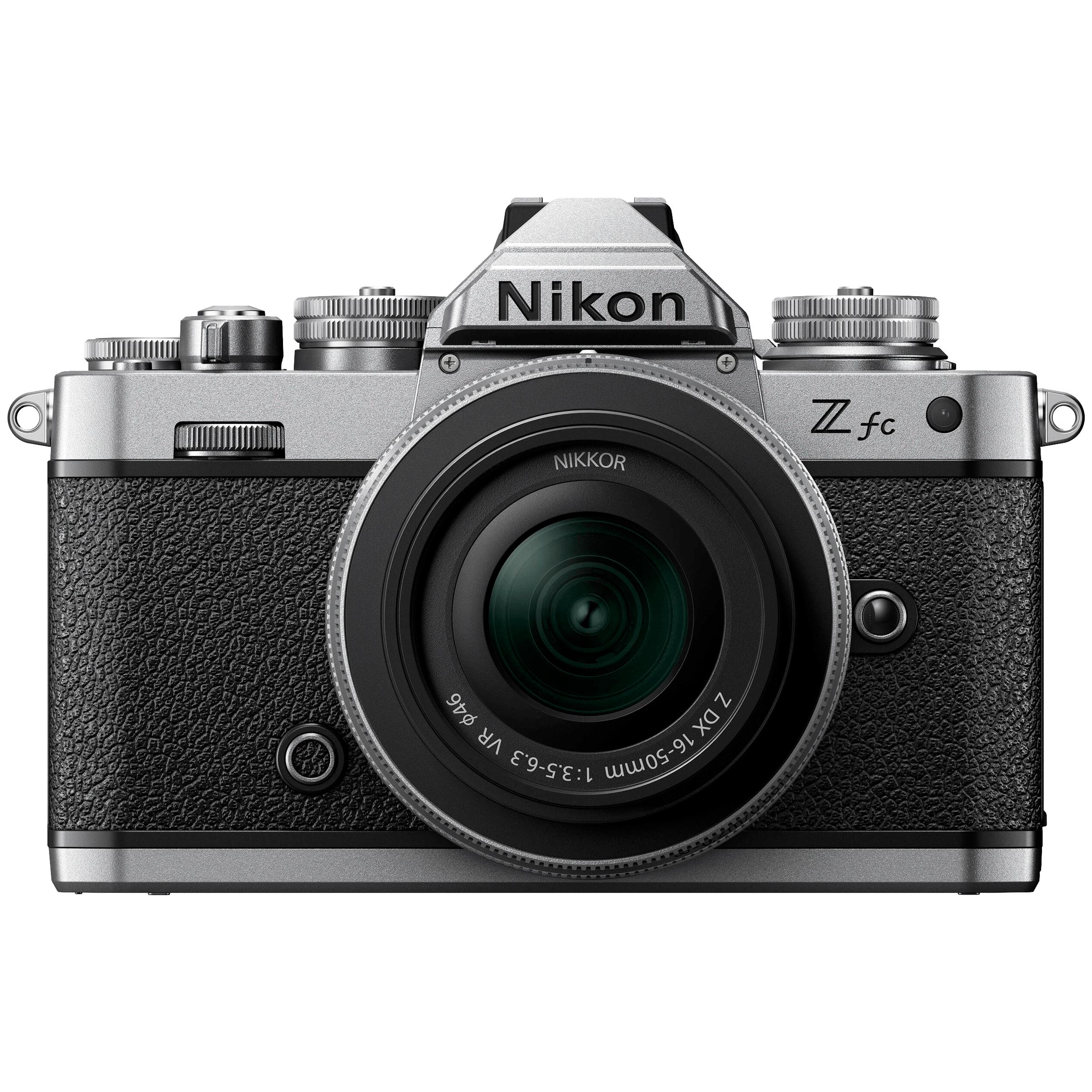 Nikon Z FC 20.9MP Mirrorless Camera (16-50mm Lens, Flash-Ready Indicator, VOK090XN, Black)_1