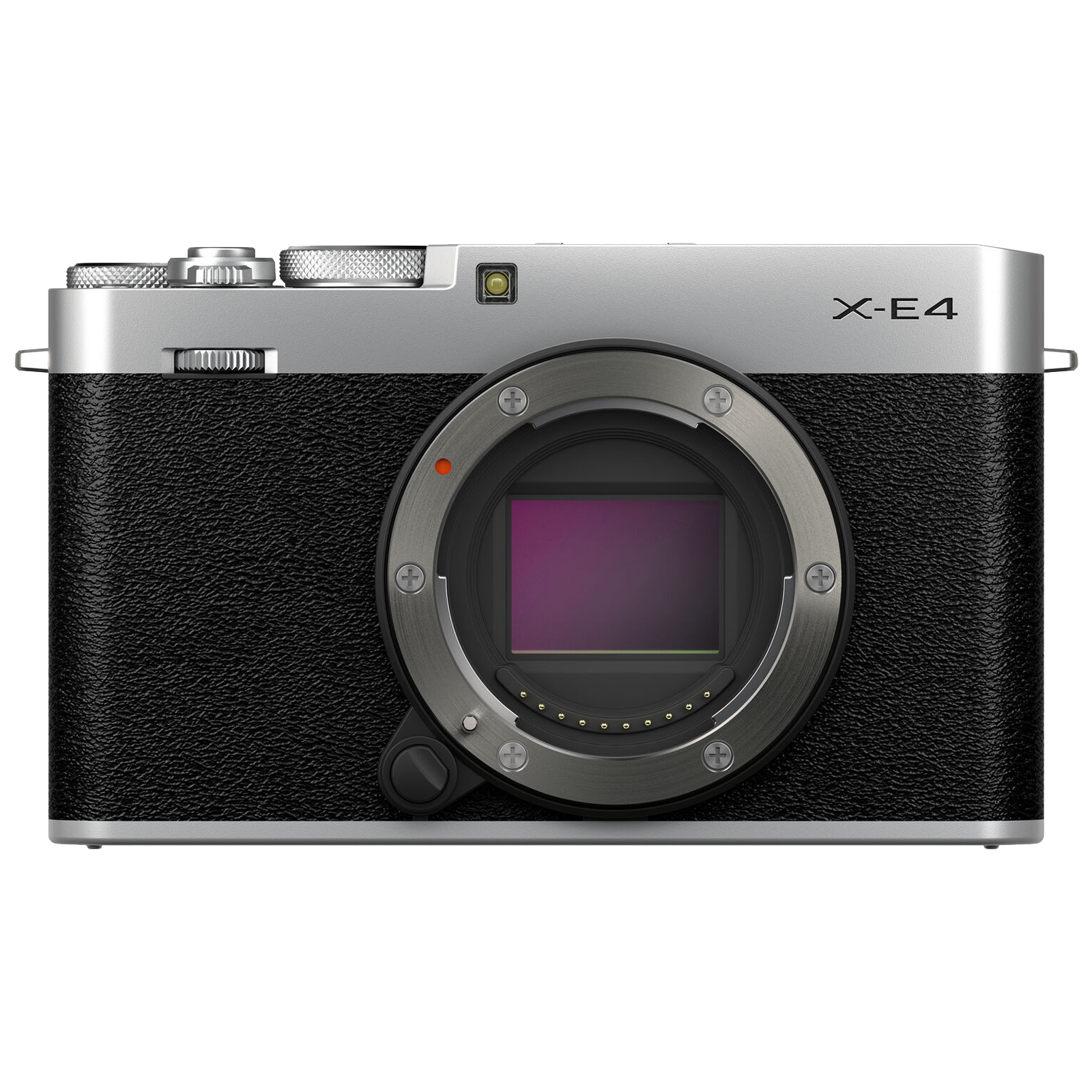 Fujifilm X-E4 26.1MP Mirrorless Camera (Intelligent Hybrid Phase Detection Autofocus, Silver)_1