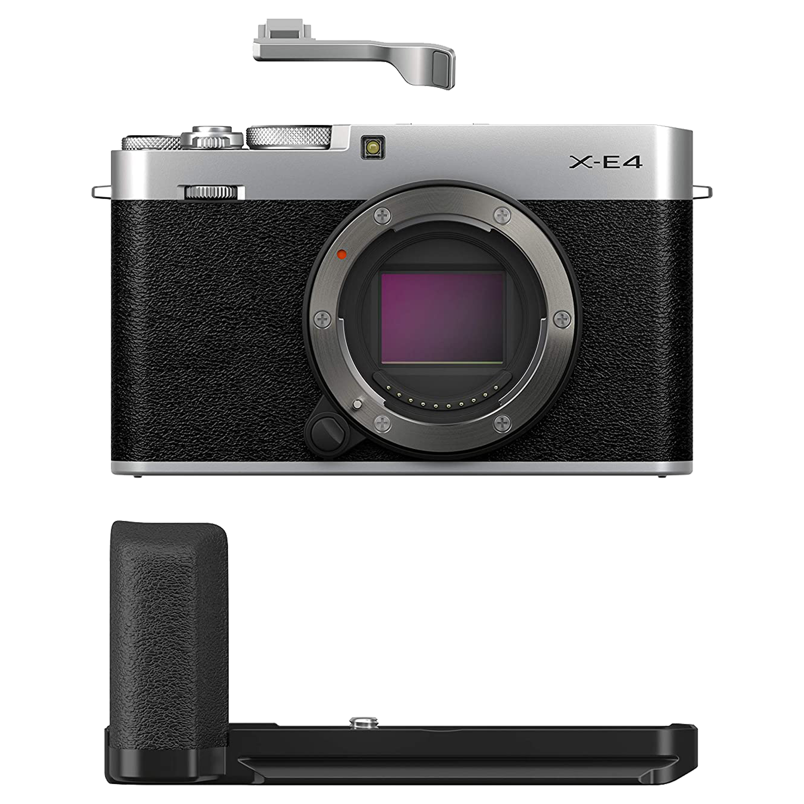 Fujifilm X-E4 26.1MP Mirrorless Camera (180 Degree Tilting LCD Screen, Silver)_1