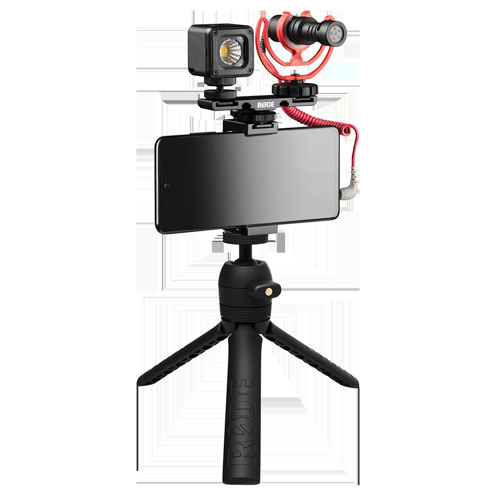 Rode Universal Vlogger Kit (Directional Sound Pickup, VLOGVMICRO, Black)_1