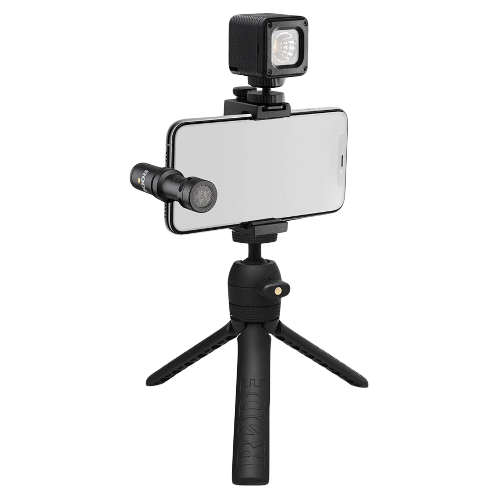 Rode USB-C Edition Vlogger Kit (MicroLED Light, VLOGVMMC, Black)_1