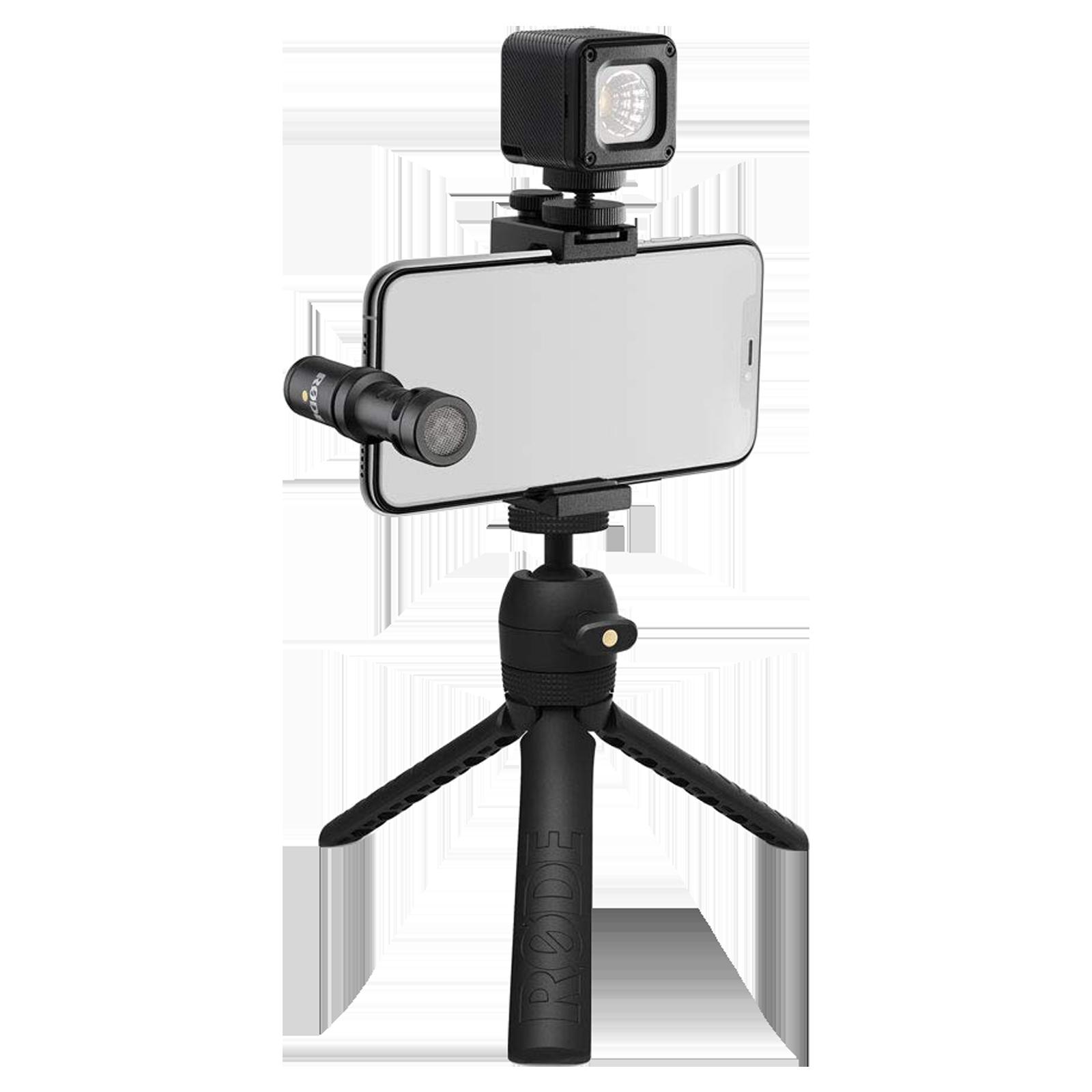 Rode iOS Edition Vlogger Kit (Directional Sound Pickup, VLOGVMML, Black)_1