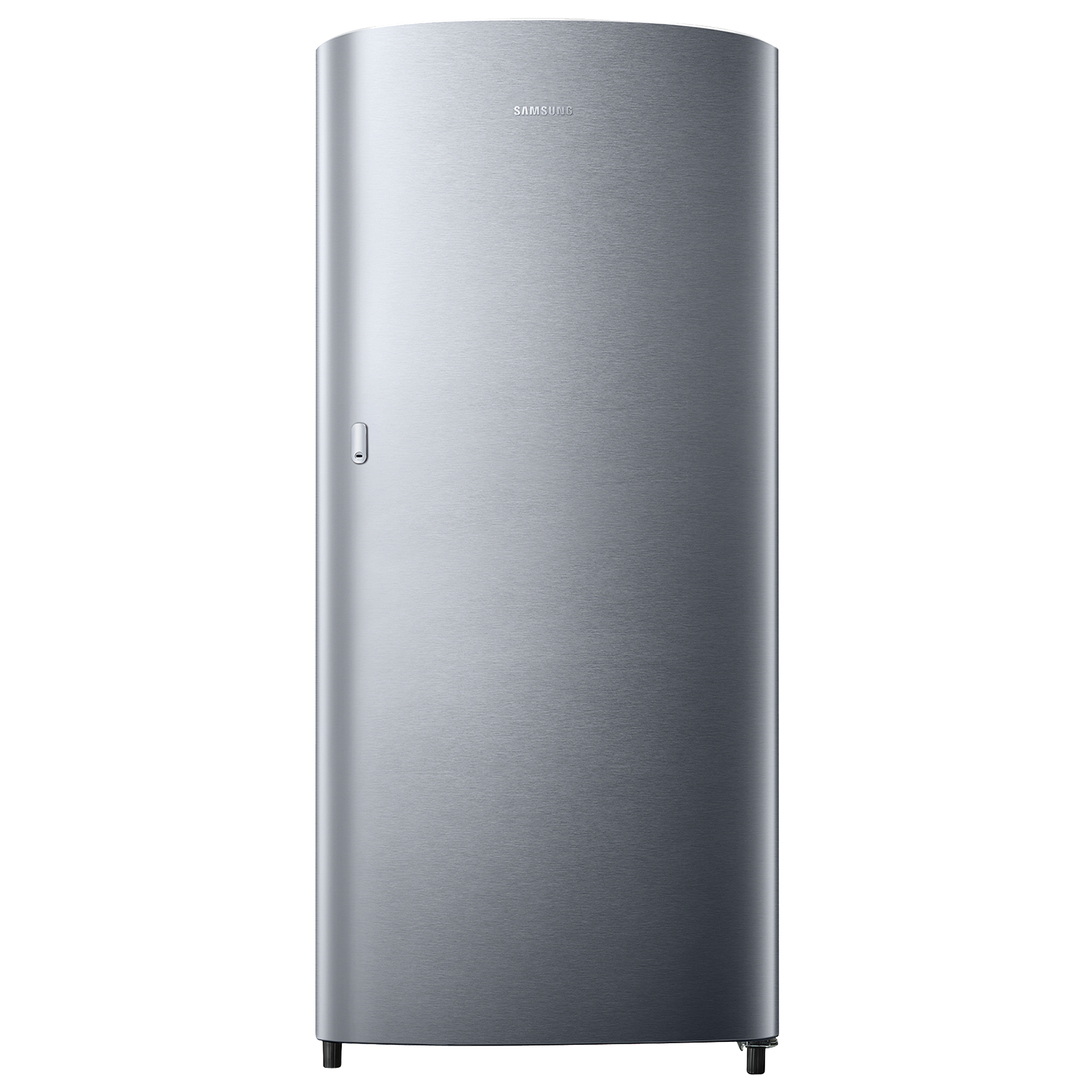Samsung 192 Litres 2 Star Direct Cool Single Door Refrigerator (Stabilizer Free Operation, RR19T11CBSE/HL, Elective Silver)_1