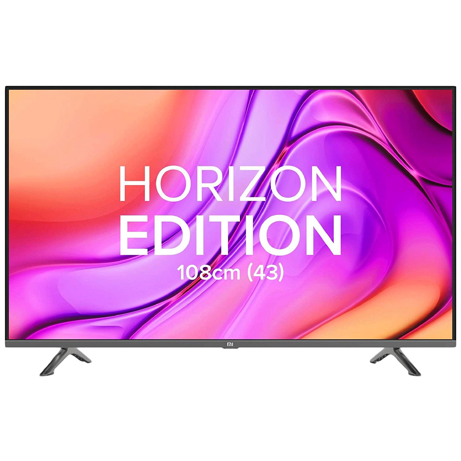 Xiaomi Mi 4A 43 Horizon 108cm (43 Inch) Full HD LED Android Smart TV (Vivid Picture Engine, 43ELA4548, Black)