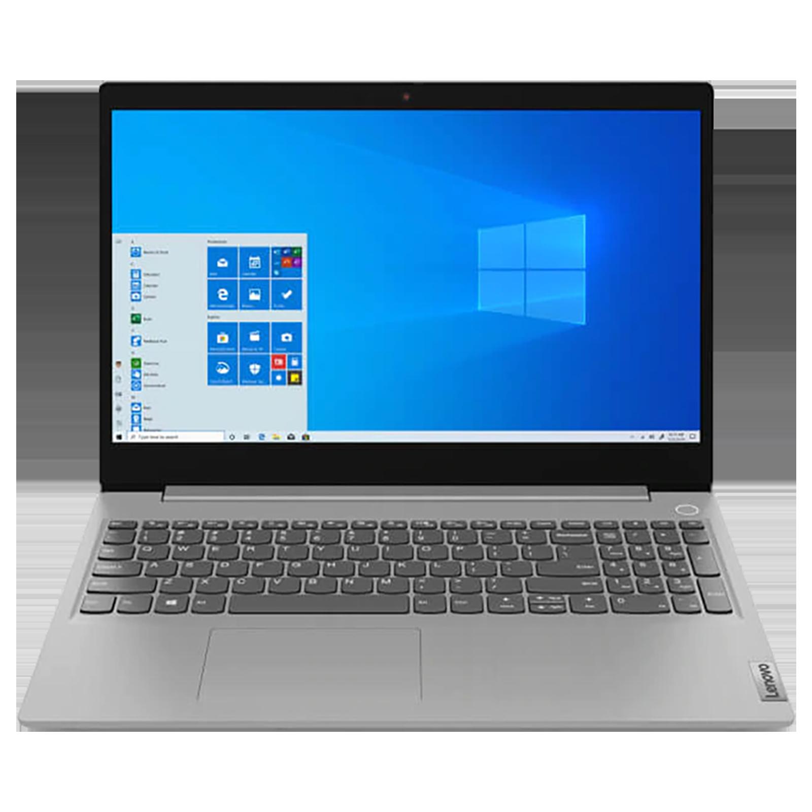 Lenovo IdeaPad 3 15IGL05 (81WQ008QIN) Celeron Windows 10 Home Thin and Light Laptop (4GB RAM, 256GB SSD, Intel UHD Graphics 600, MS Office, 39.62cm, Platinum Grey)_1