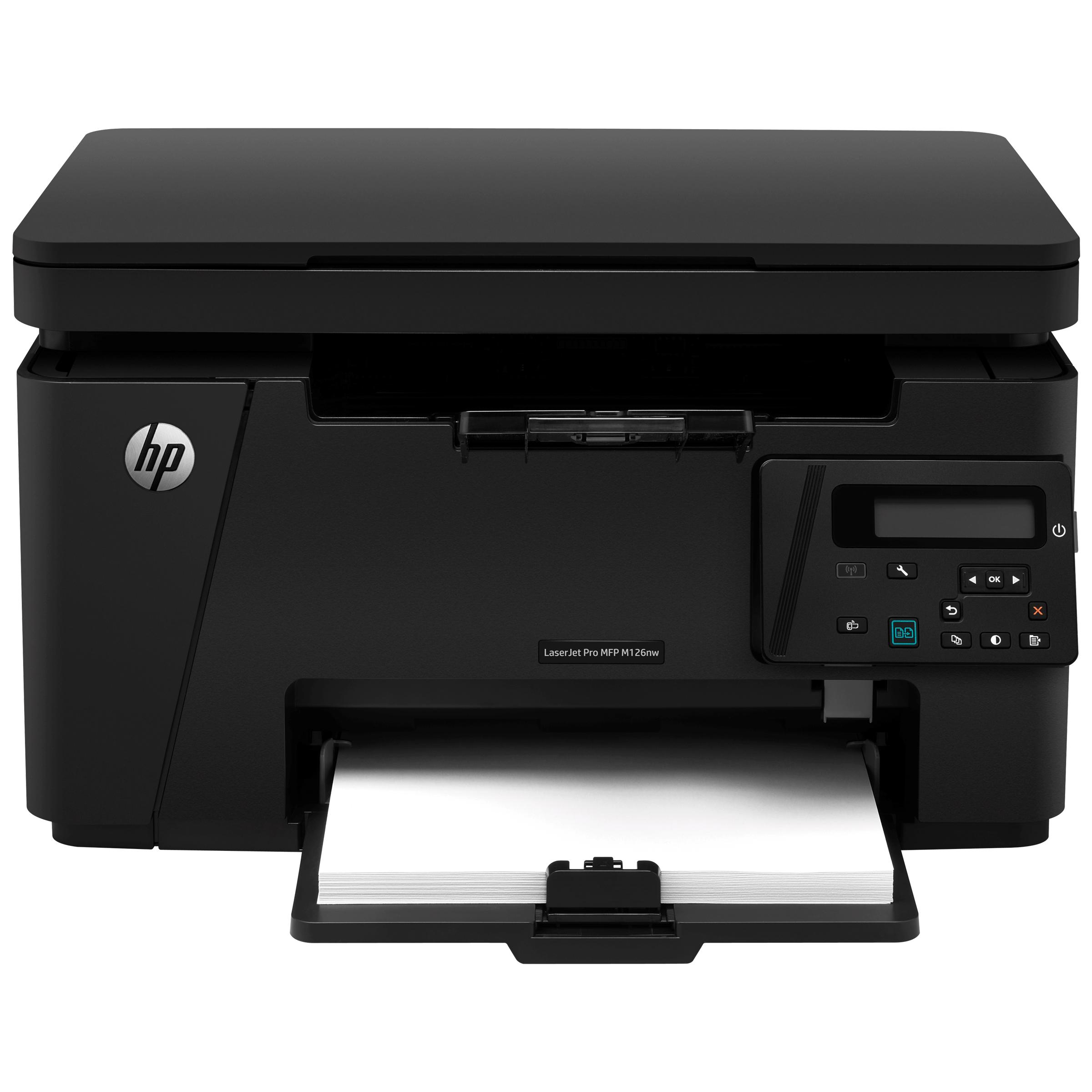 HP LaserJet Pro M126nw Wireless Black & White Multi-Function Laserjet Printer (Wireless Direct Printing, CZ175A, Black)_1