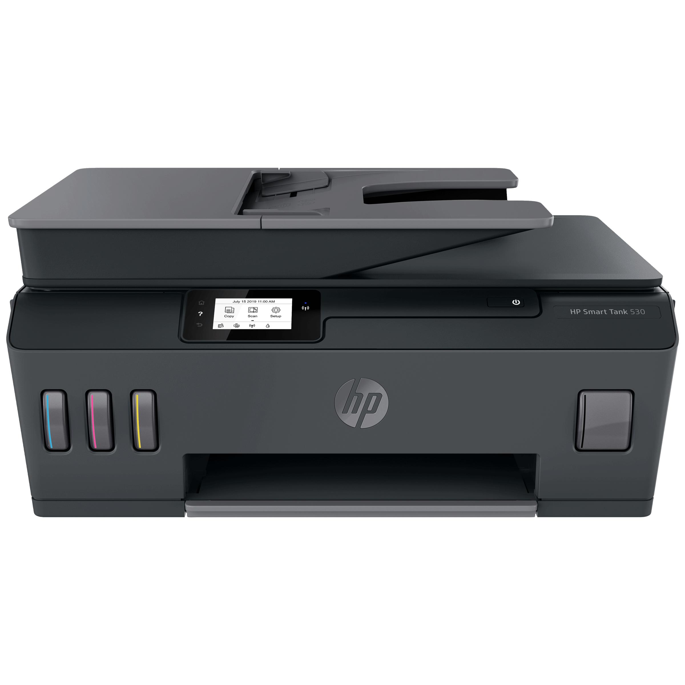 HP Smart Tank 530 Wireless Color All-in-One Inkjet Printer (Auto Document Feeder, 4SB24A#ACJ, Grey)_1