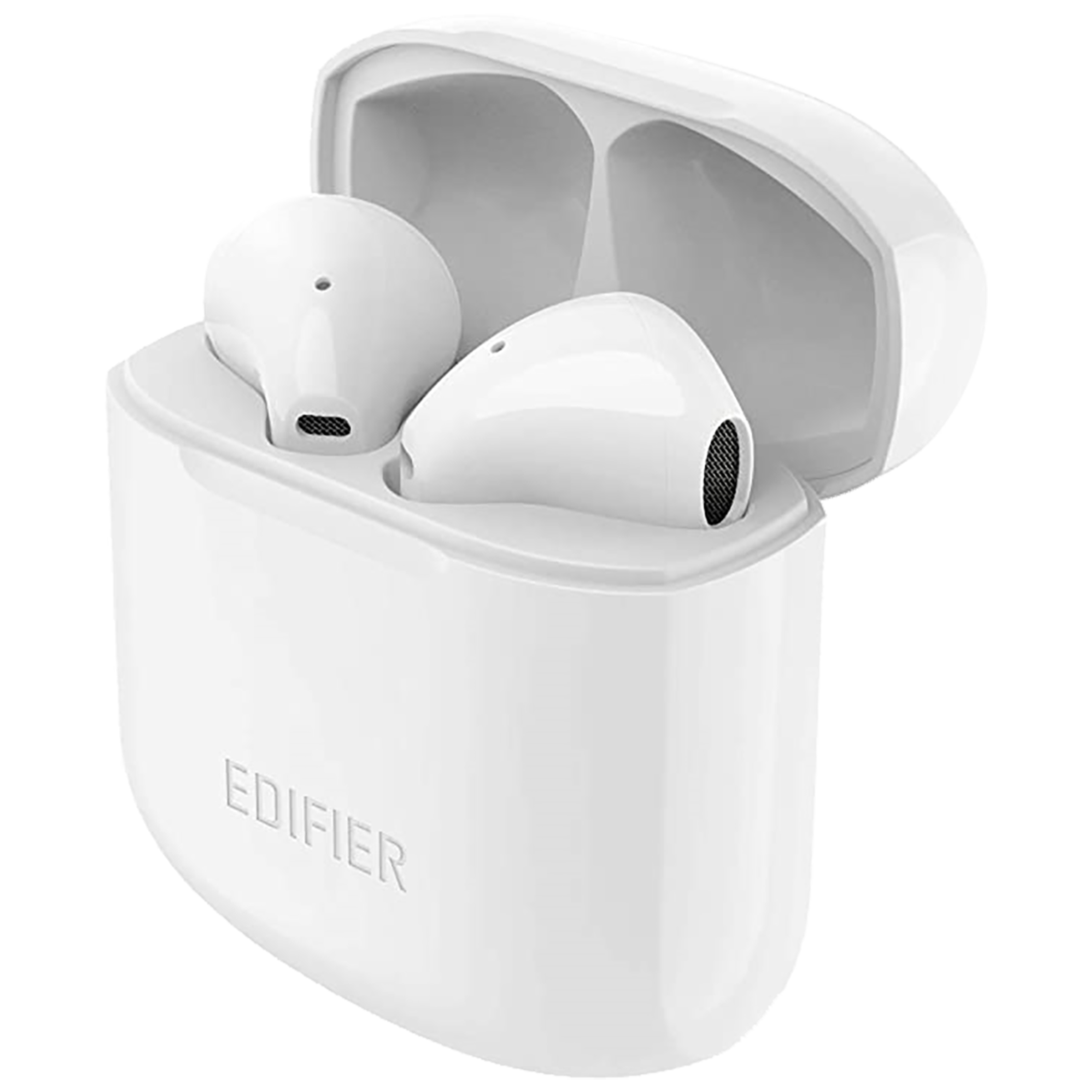 Edifier TWS 200 In-Ear Active Noise Cancellation Truly Wireless Earbuds With Mic (Bluetooth 4.0, 24 Hours Playback Time, White)_1