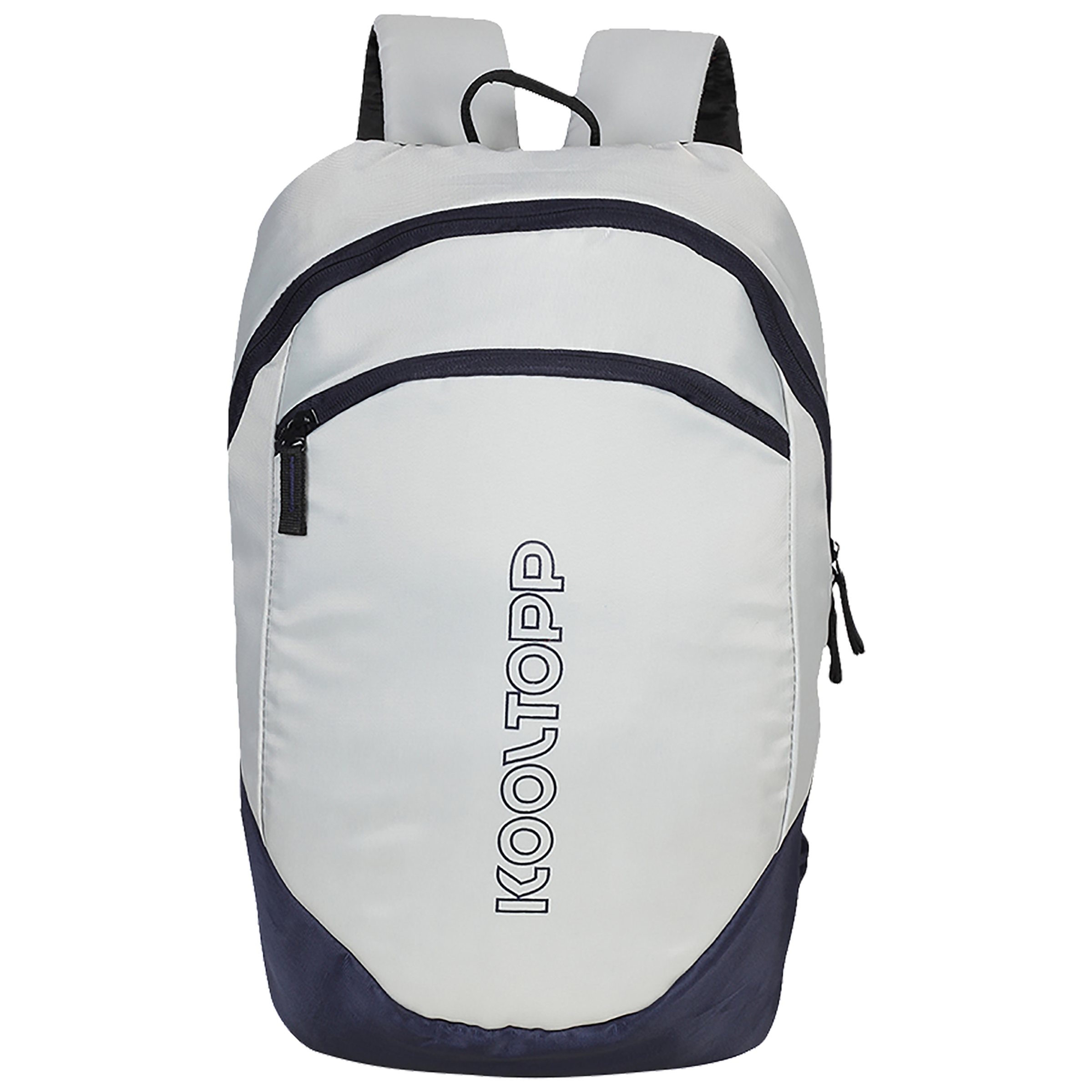 Kooltopp Simple 14 Litres Polyester Backpack for 13 Inch Laptop (Water Resistant, KT436-16, Navy Blue)_1