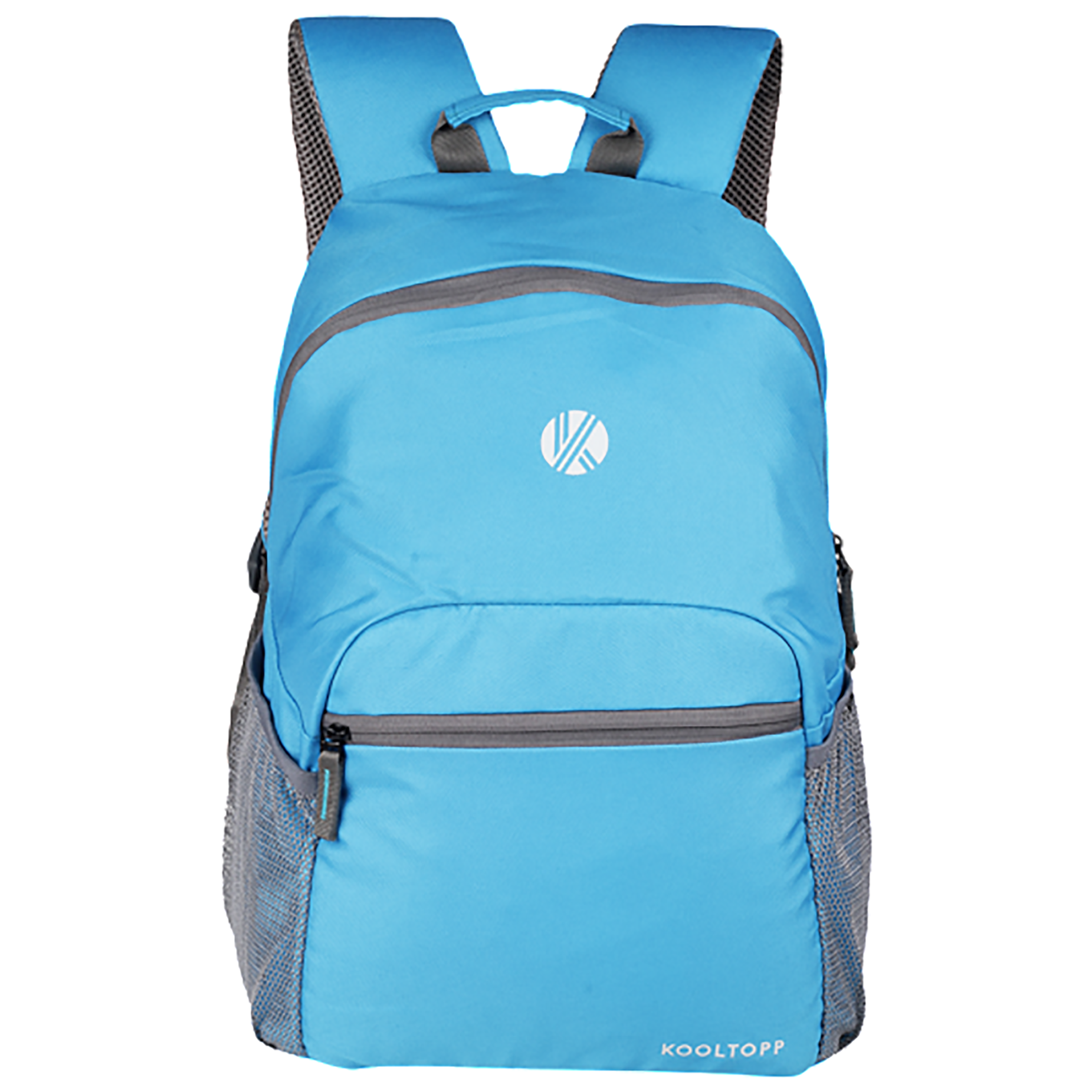 Kooltopp Classic 24 Litres Polyester Backpack for 15 Inch Laptop (Water Resistant, KT430-04, Sky Blue)_1