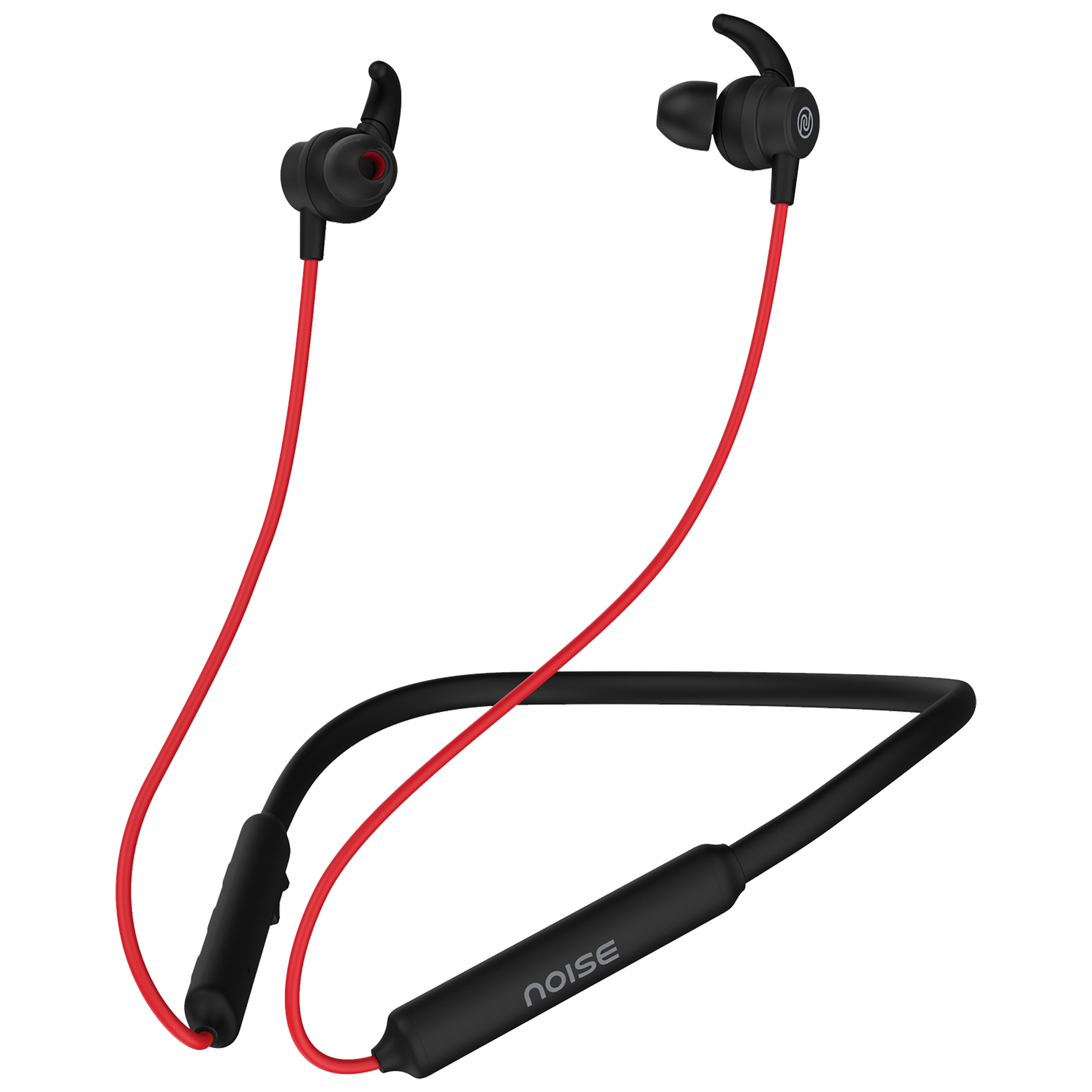 Noise Tune Active In-Ear Wireless Earphone with Mic (Bluetooth 5.0, IPX5 Water Resistant, Red)_1