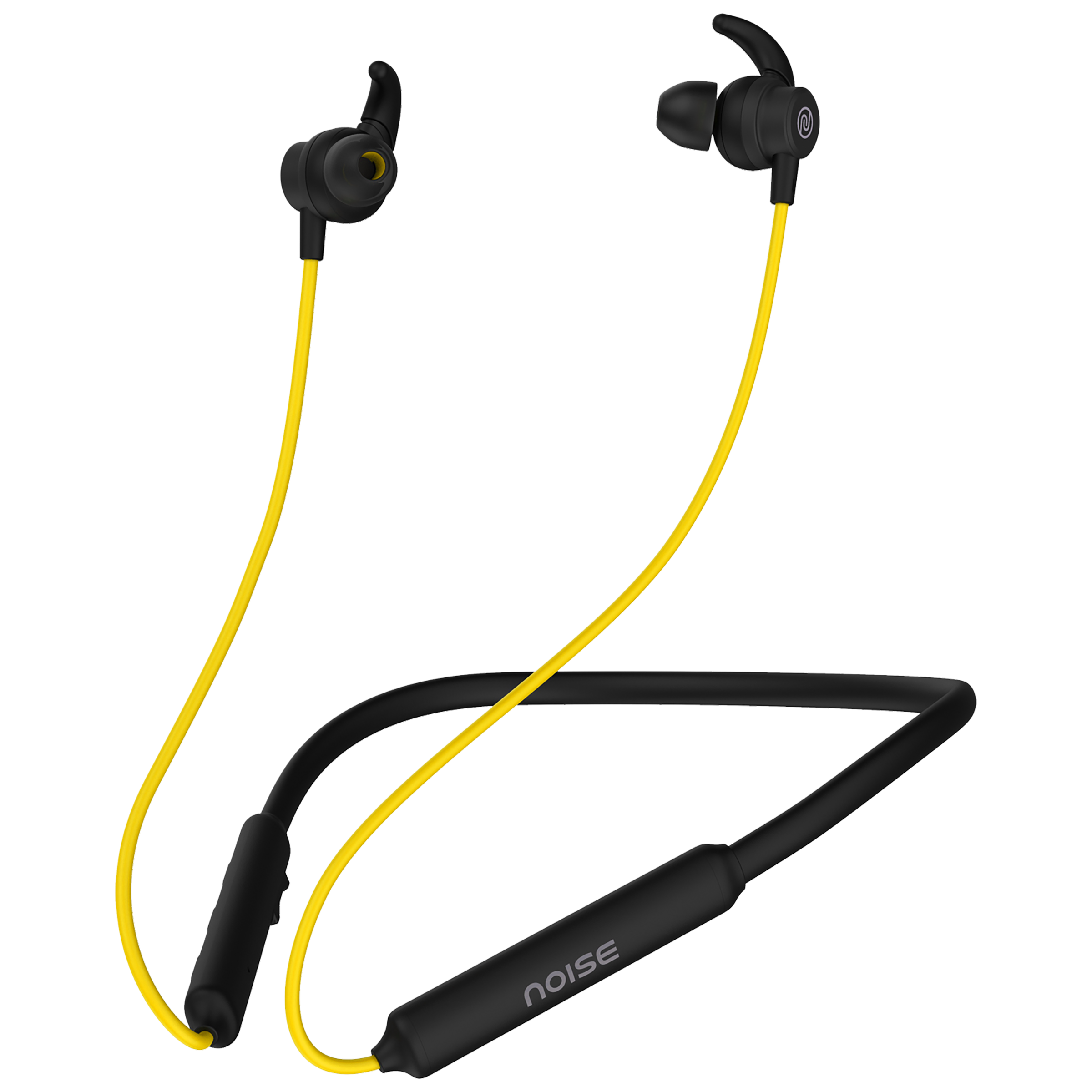 Noise Tune Active In-Ear Wireless Earphone with Mic (Bluetooth 5.0, IPX5 Water Resistant, Yellow)_1