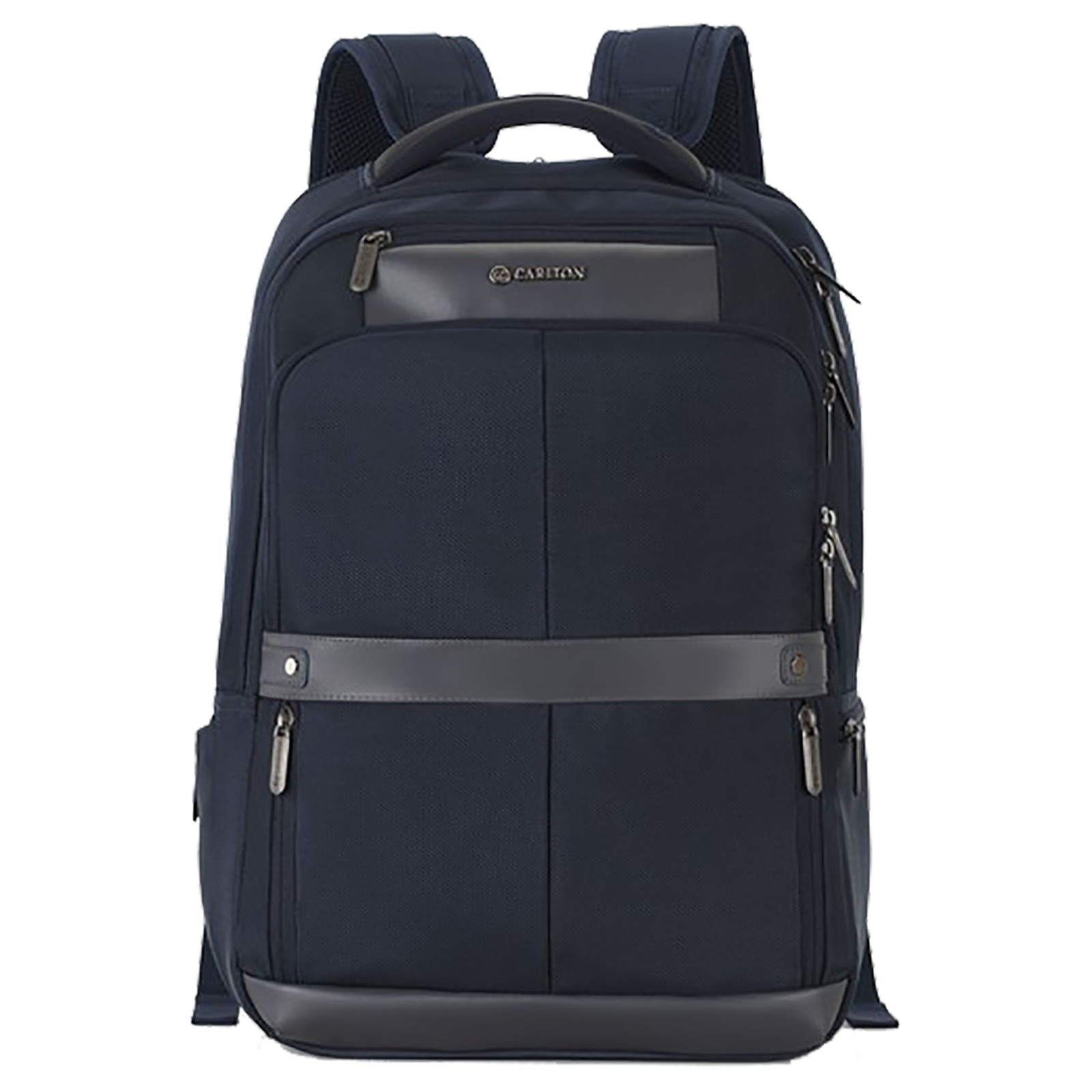Carlton Hampshire 02 26 Litres 1681 Faux Nylon Backpack for 17 Inch Laptop (Ergofoam Back, BPHAM2BLU, Blue)_1