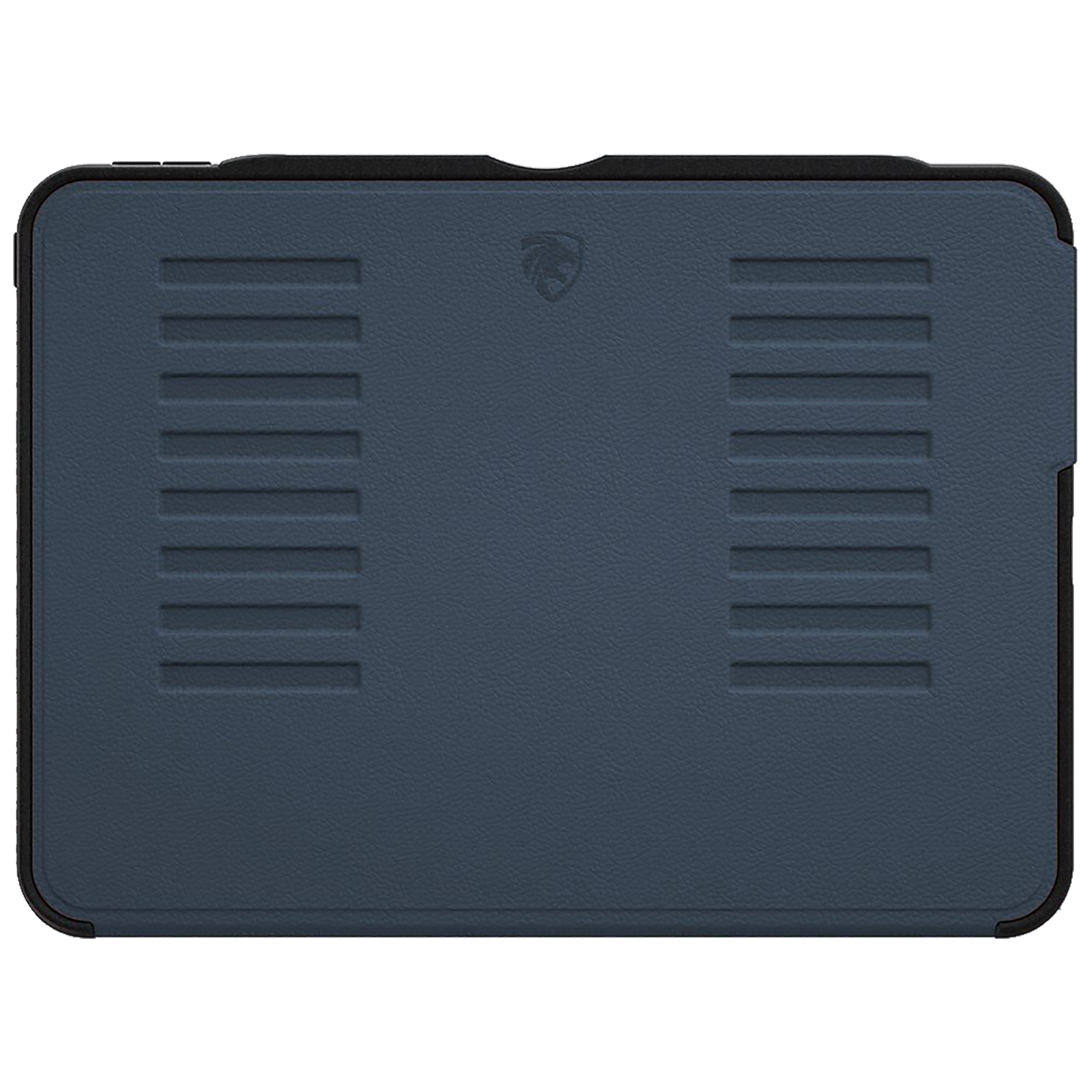 Zugu Alpha Polycarbonate Back Case with Stand For iPad Pro 12.9 (4th Gen) (Soft Microfiber Interior, ZG-20-129NB, Navy Blue)_1