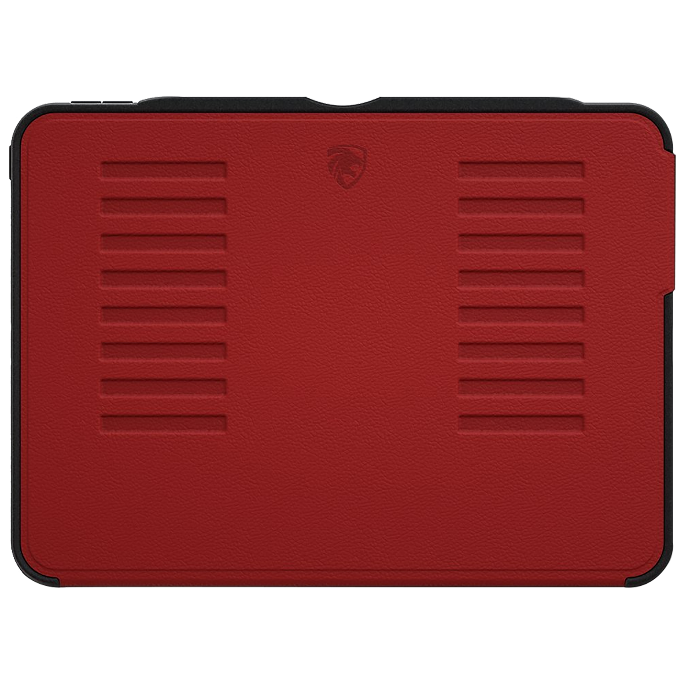 Zugu Alpha Polycarbonate Back Case with Stand For iPad Pro 11 (2nd Gen) (Soft Microfiber Interior, ZG-20-11R, Red)_1