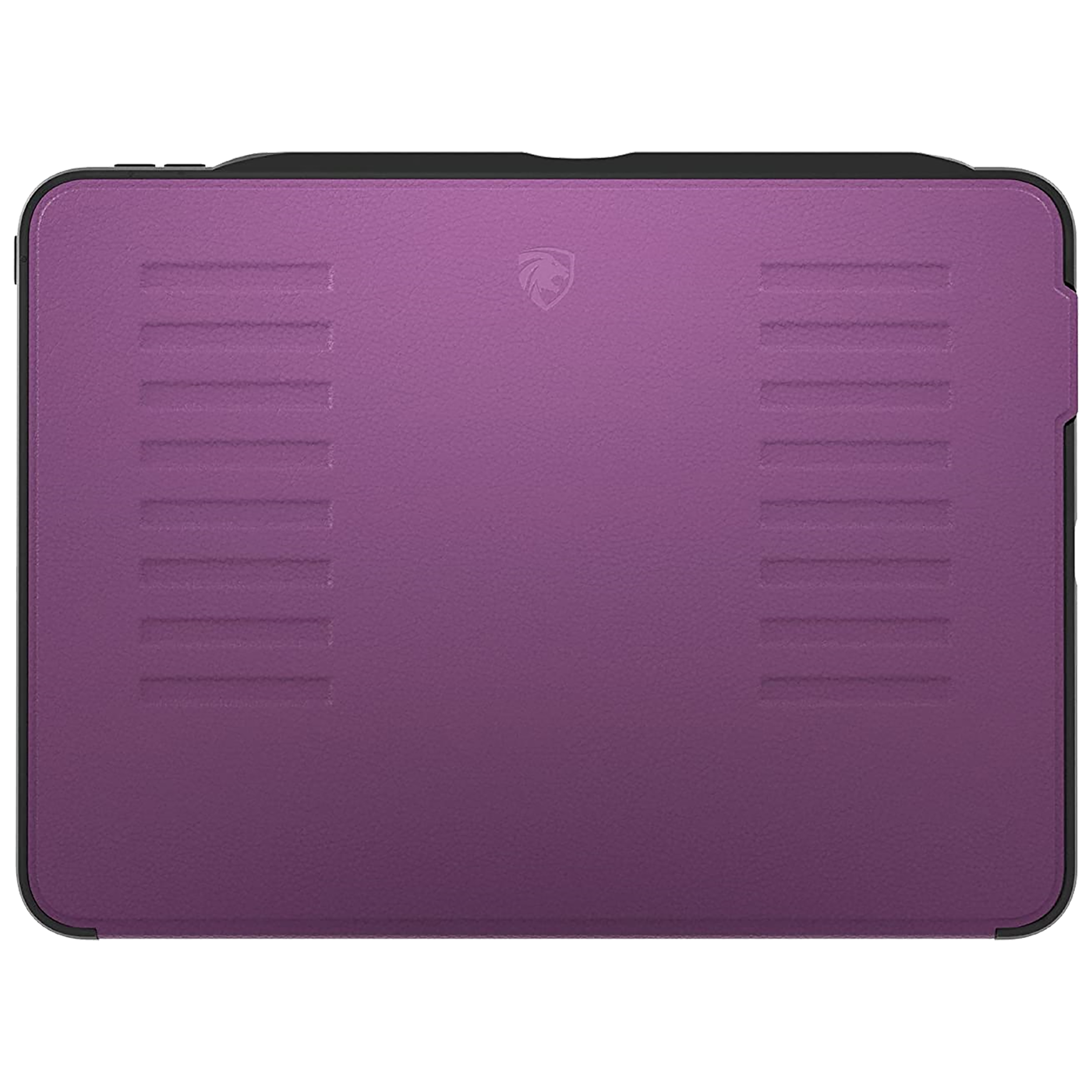 Zugu Alpha Polycarbonate Back Case with Stand For iPad Pro 11 (2nd Gen) (Soft Microfiber Interior, ZG-20-11P, Purple)_1