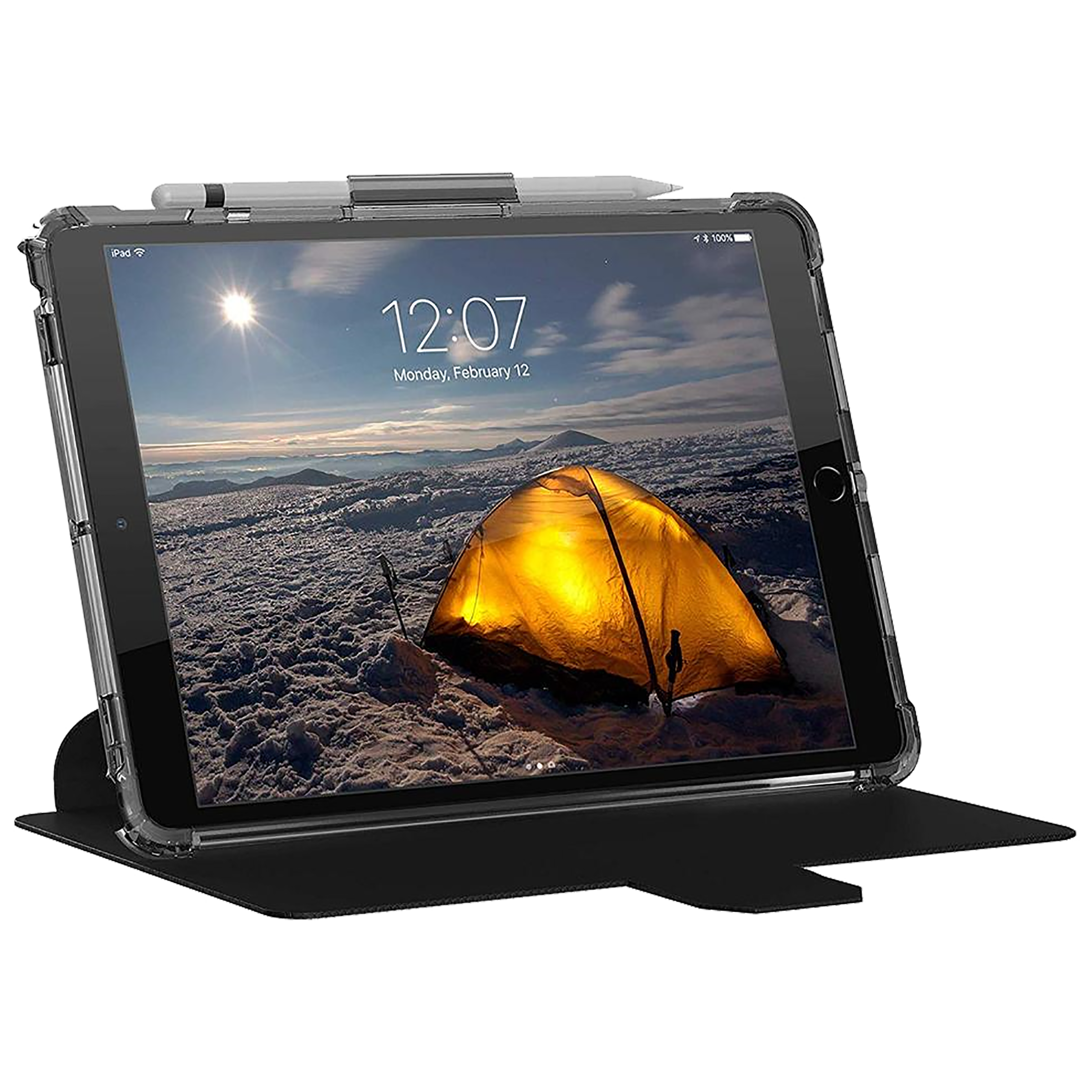 UAG Plyo Polycarbonate Back Case With Stand For iPad Pro 10.5 Inch (Military Drop Tested Protection, UGPY_IPD105_IC, Ice)_1