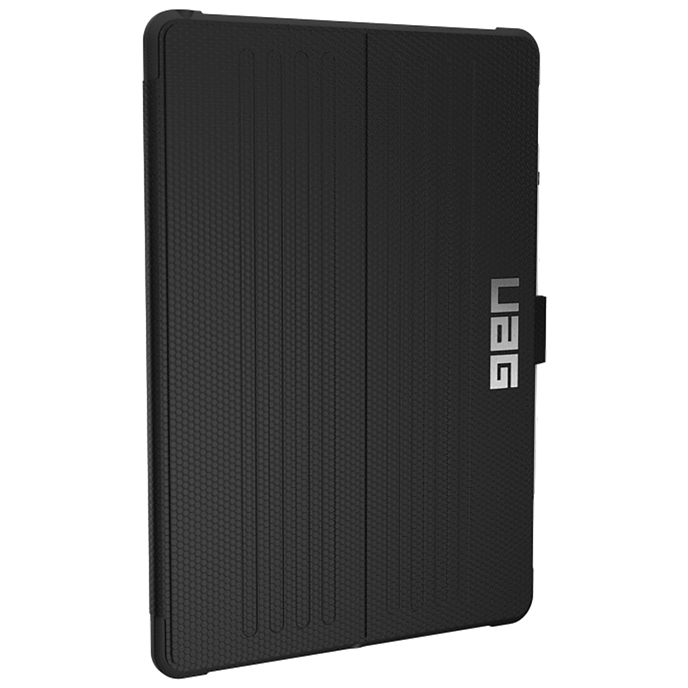 UAG Metropolis Polycarbonate Flip Case With Stand For iPad Air 10.5 Inch (Military Drop Tested Protection, UGMP_IPD105_BK, Black)_1