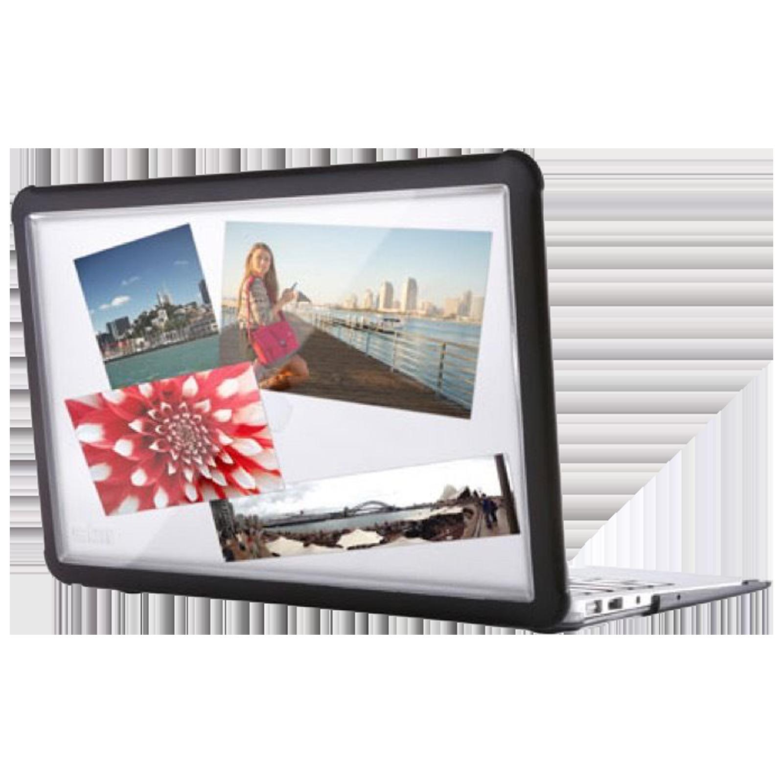 STM Dux Laptop Case For MacBook Air 13 Inch (Textured Rubber Feet, STM-122-293MW-01, Black)_1