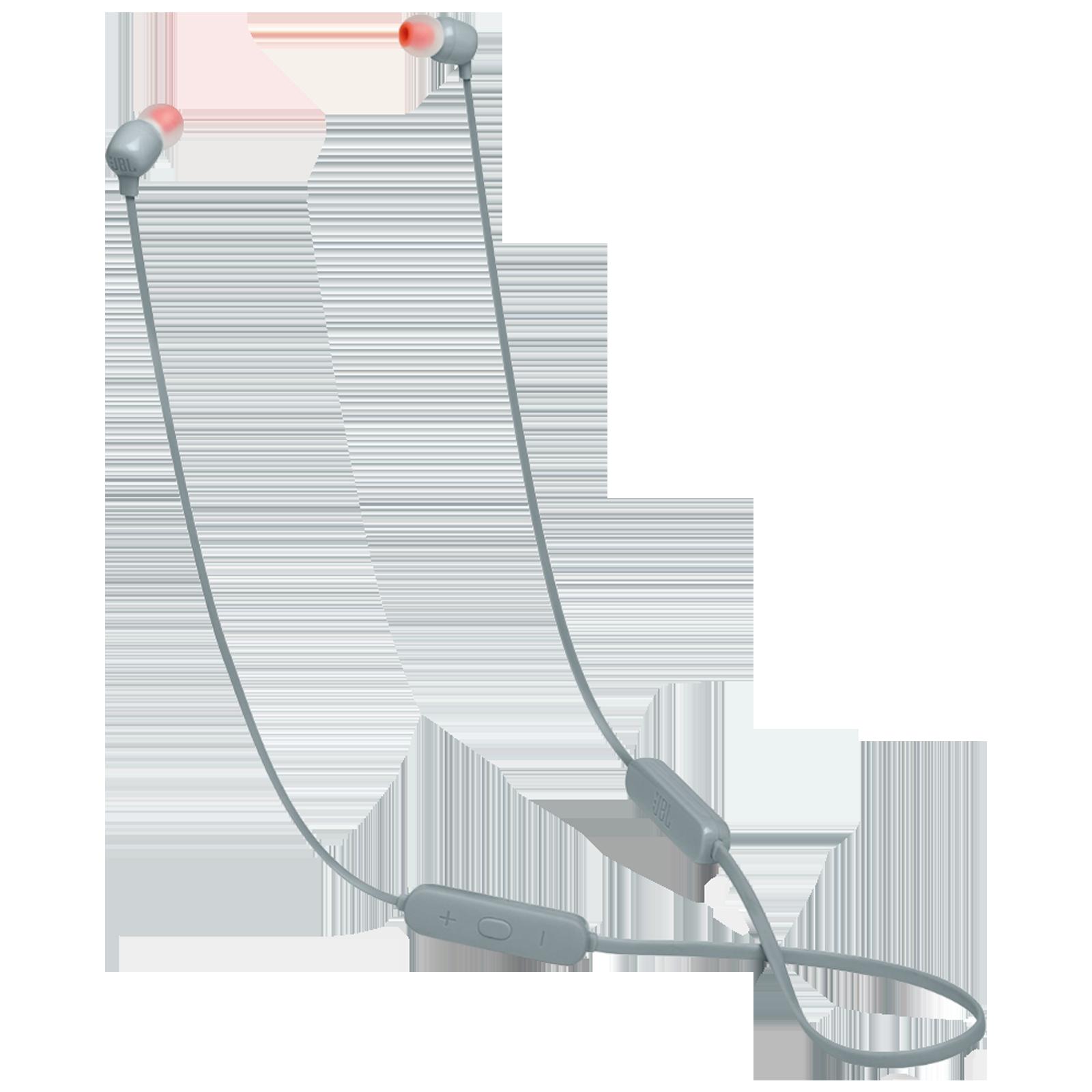 JBL Tune In-Ear Wireless Earphone with Mic (Bluetooth 4.2, JBL Pure Bass Sound, JBLT115BTGRY, Grey)_1