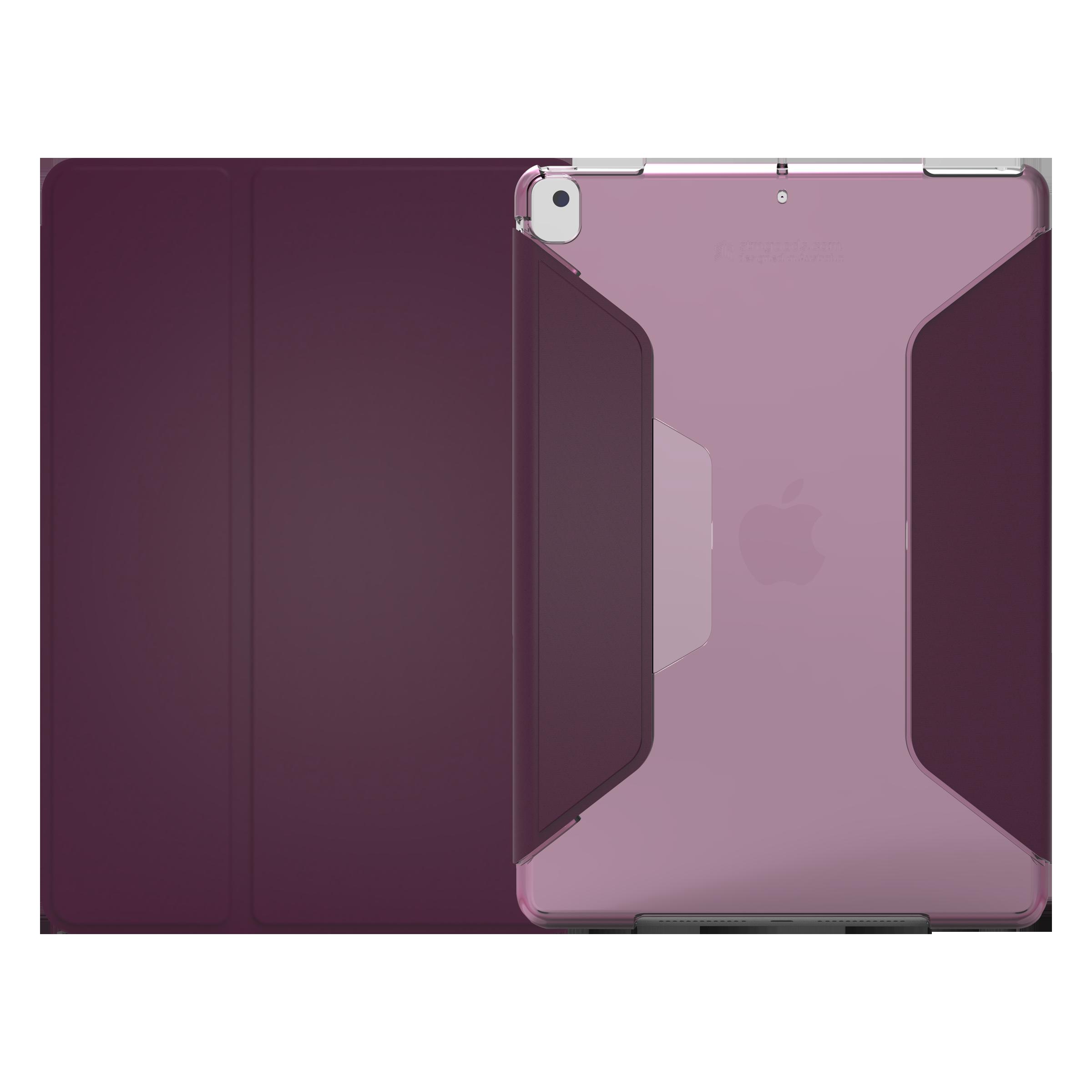 STM Studio Polycarbonate Flip Case For iPad 10.2 Inch 7th Gen (Instant On/Off Cover, STM-222-161JU-02, Dark Purple Smoke)_1