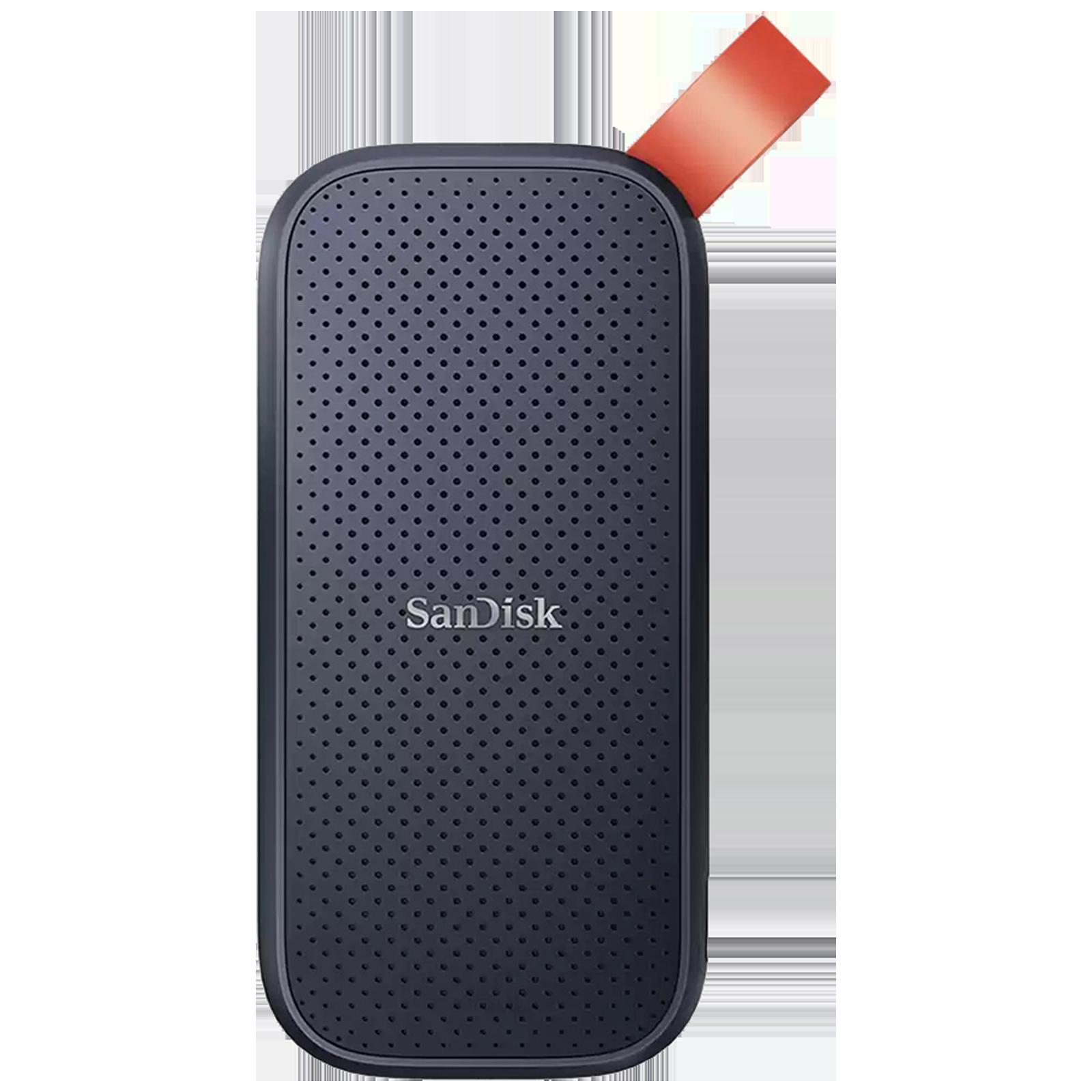 SanDisk E30 480 GB USB 3.2 (Type-C) Solid State Drive (520 MB/s Read Speed, SDSSDE30-480G-G25, Dark Blue)_1