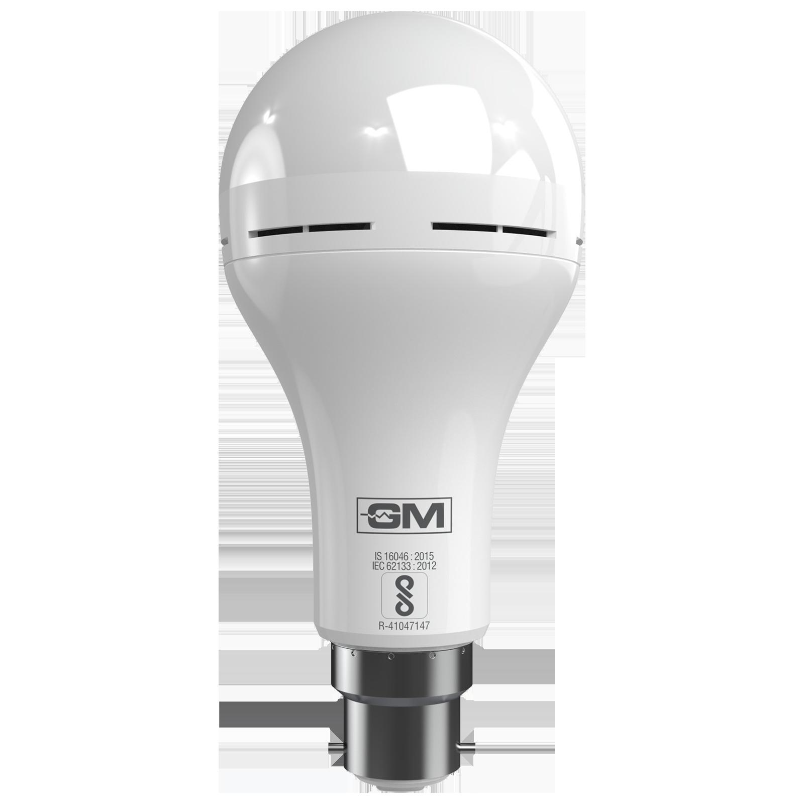 GM EVO 9 Watts Electric Powered LED Bulb (900 Lumens, GBA-9-ER-6K, White)_1