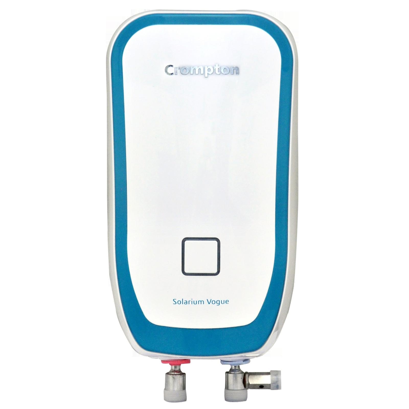 Crompton Solarium Vogue3 Litres Instant Water Geyser (3000 Watts, AIWH-3LSOLVOG3KW5Y, White)_1