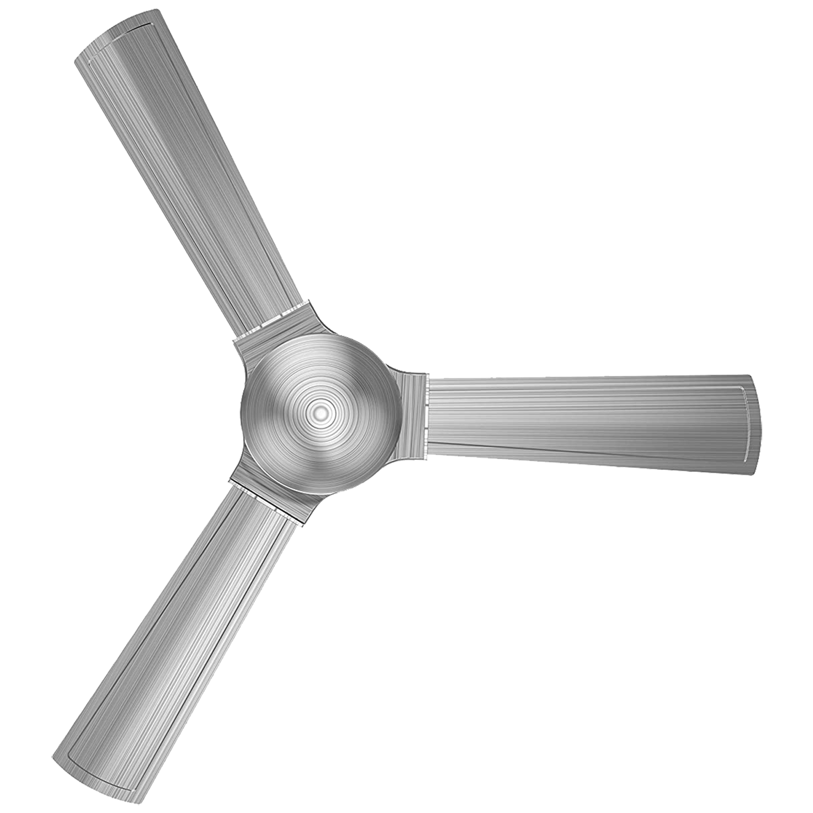 GM Lustre 120 cm Sweep 3 Blade Ceiling Fan (Extra Copper, CFP480013BSEP, Silver)_1