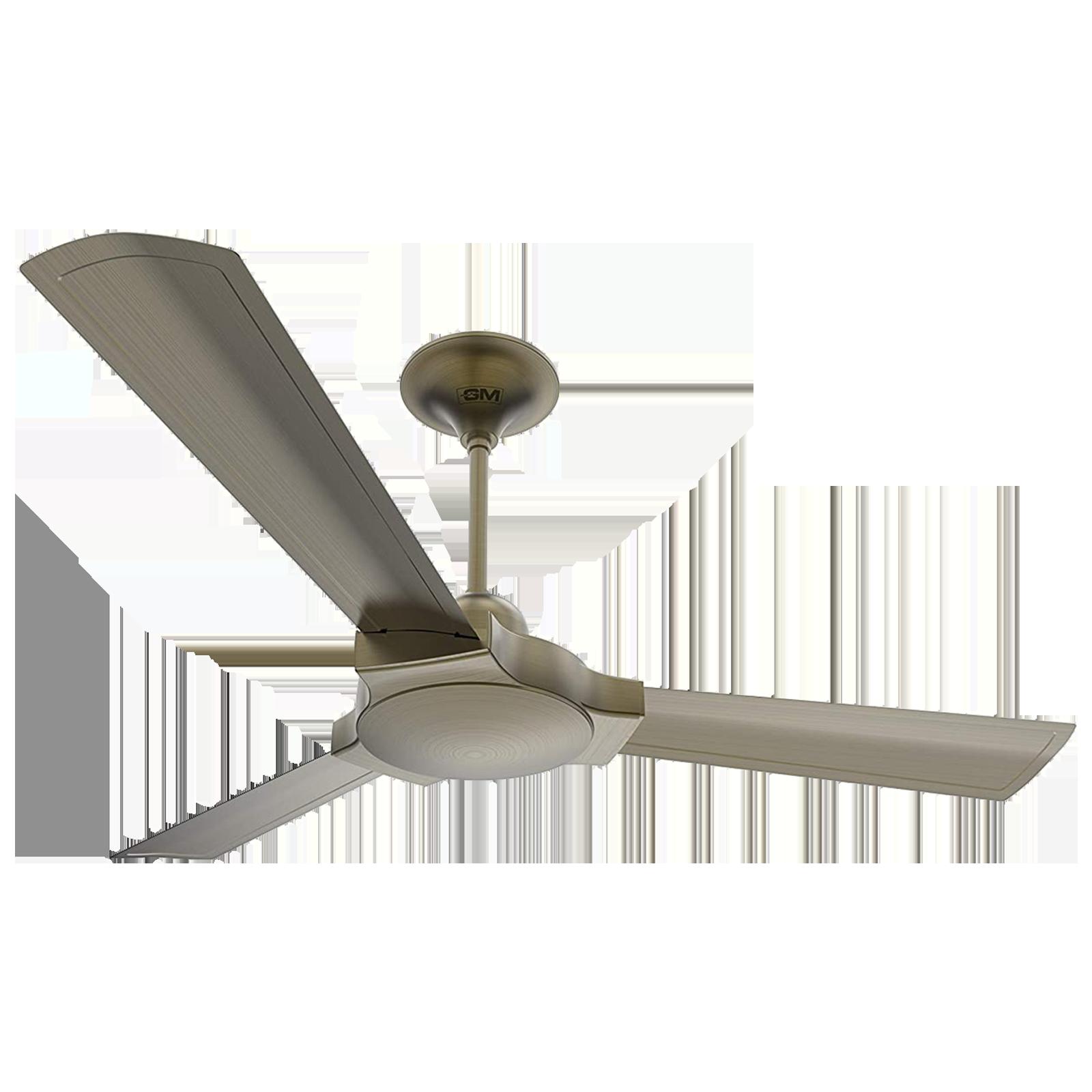GM Lustre 120 cm Sweep 3 Blade Ceiling Fan (Extra Copper, CFP480013BAEP, Grey)_1