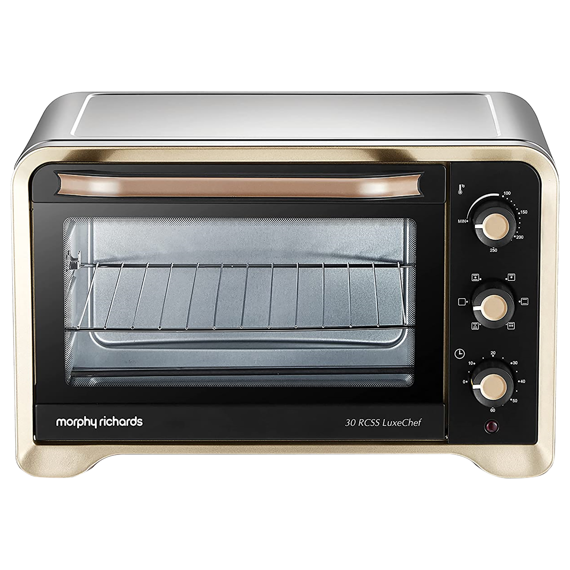 Morphy Richards 30 RCSS LuxeChef 30 Litres OTG (Integrated Oven Light, Gold)_1