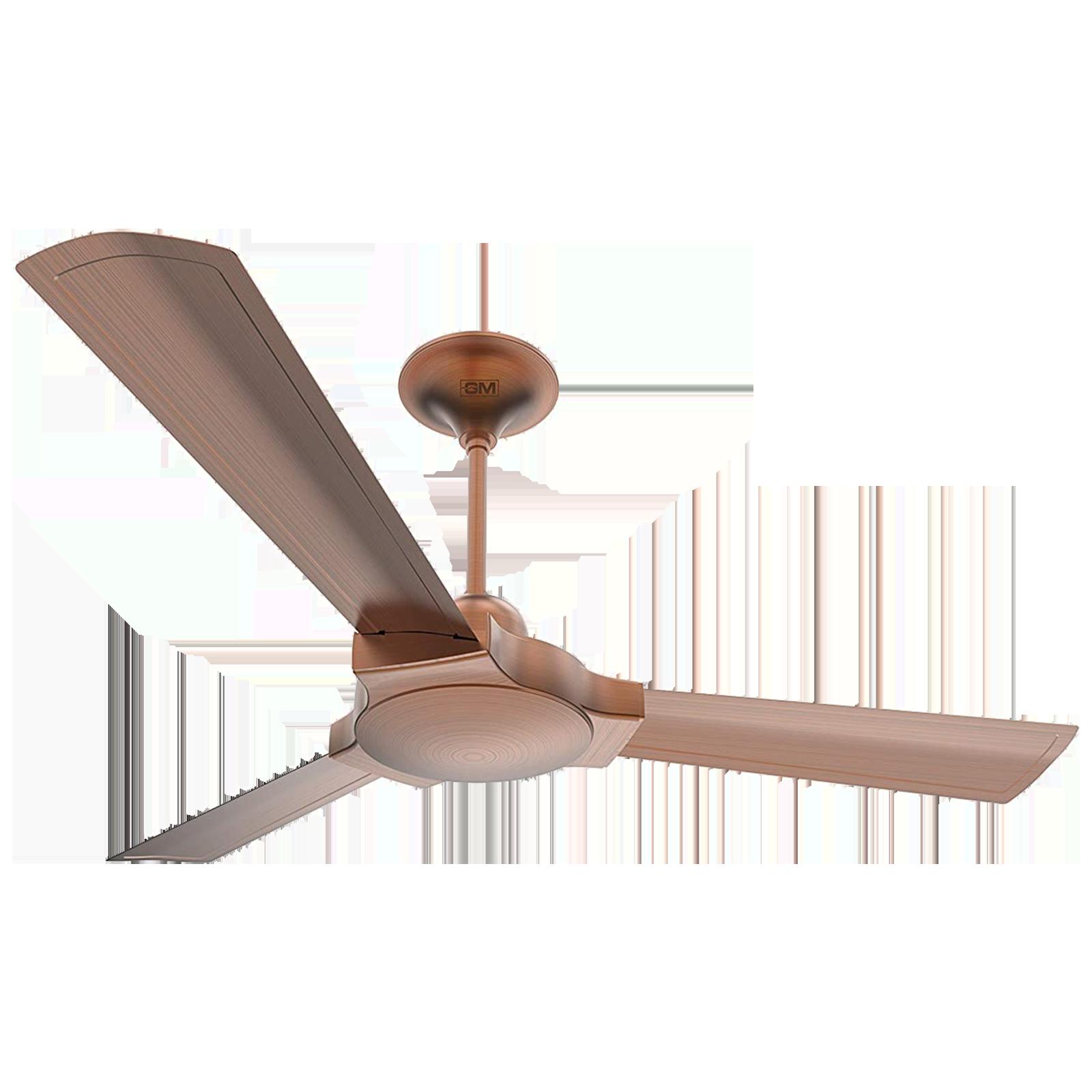 GM Lustre 120 cm Sweep 3 Blade Ceiling Fan (Extra Copper, CFP480013CUEP, Bronze)_1