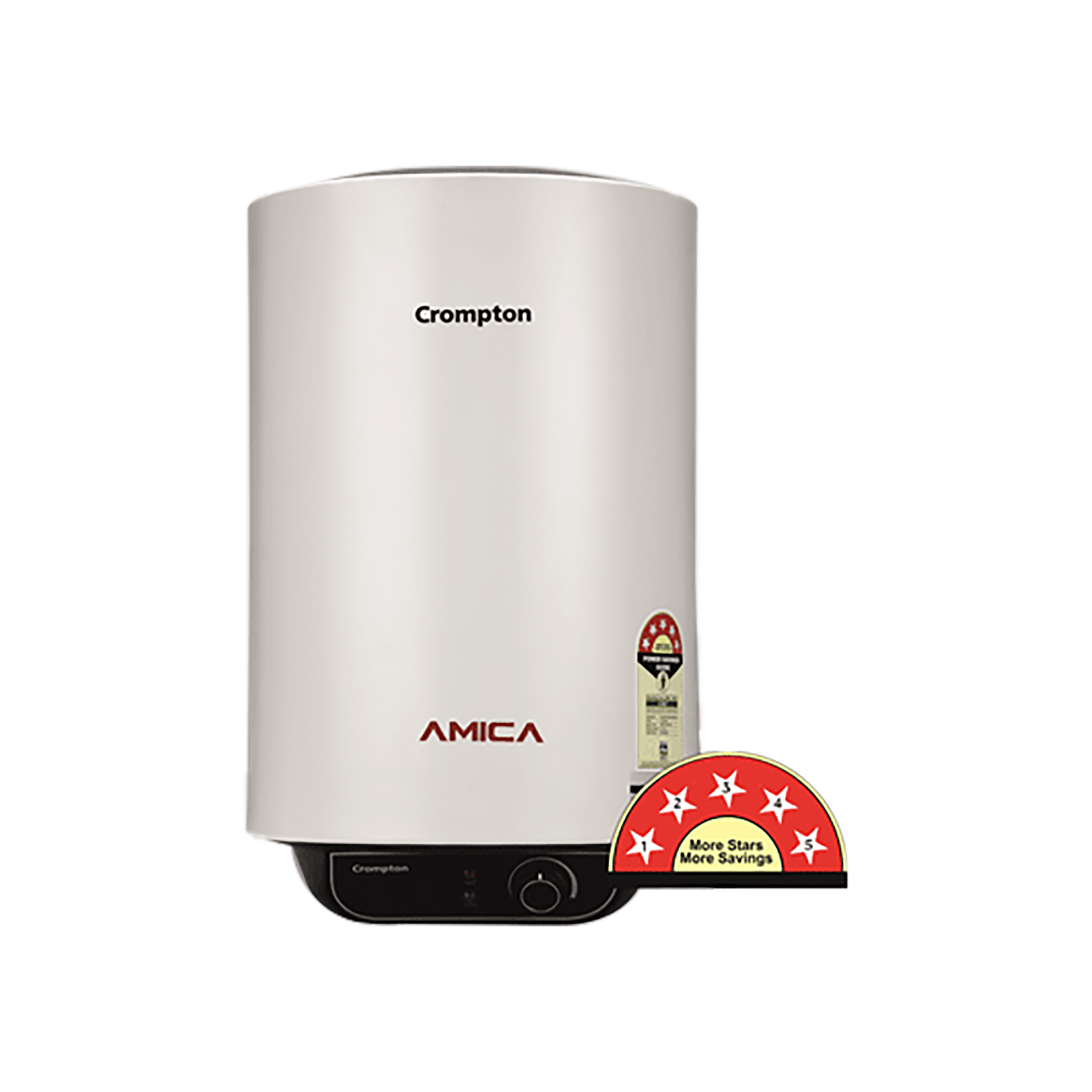 Crompton Amica 25 Litres 5 Star Storage Water Geyser (2000 Watts, ASWH-2025, White)_1