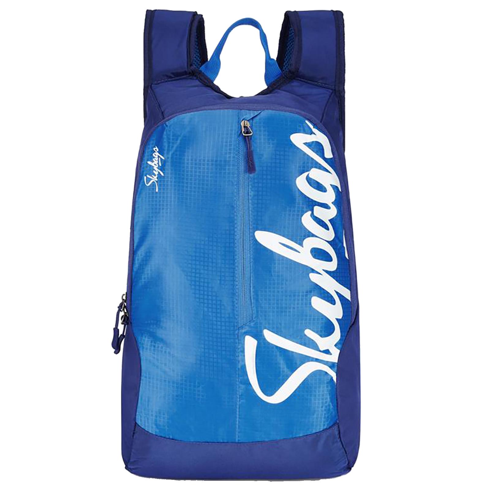 Sky Bags Boho 04 18 Litres Gucci Fabric Backpack (Quick Access Pocket, BPBOH4BLU, Blue)_1