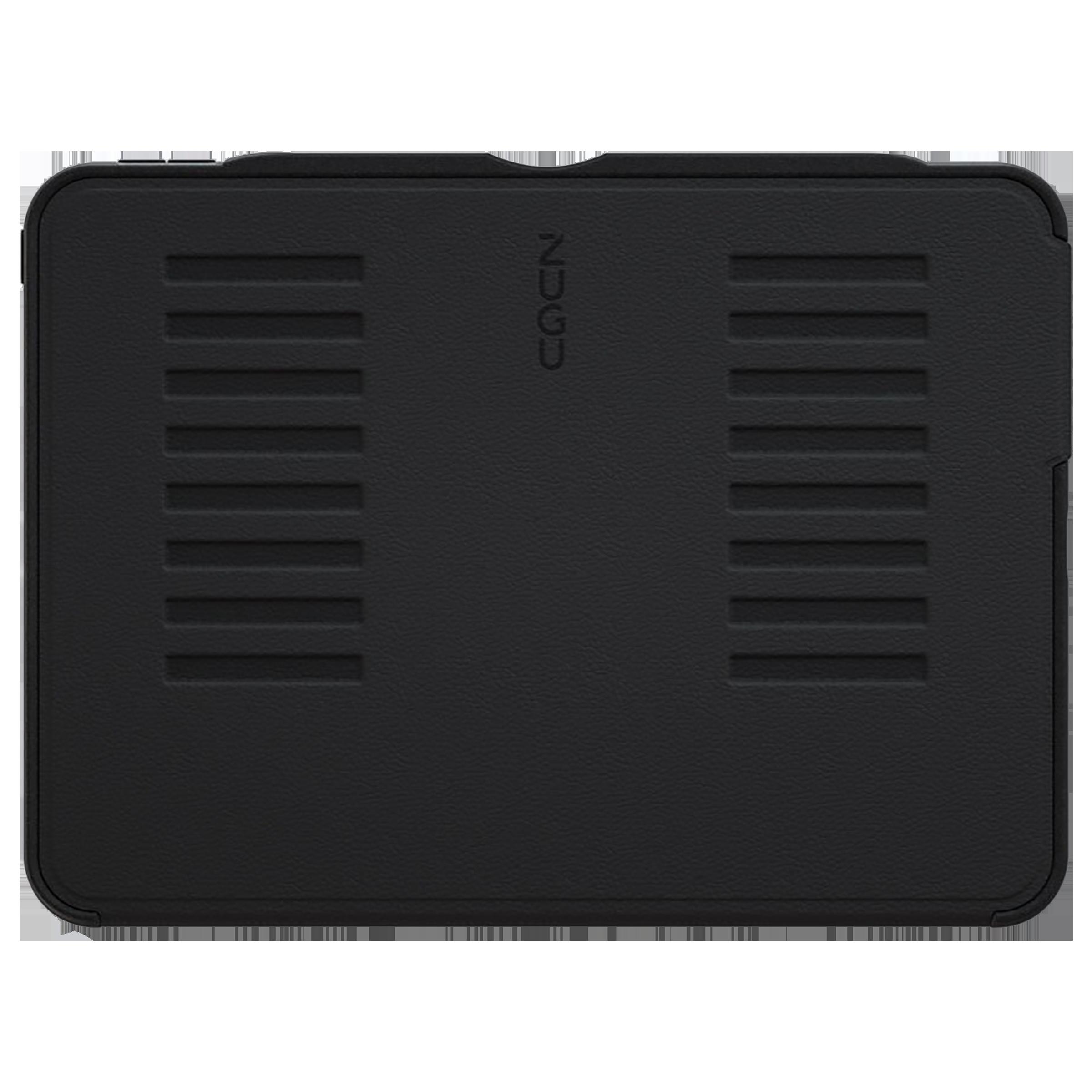 Zugu Microfiber Flip Case with Stand For Apple iPad Pro 11 Inch (Robust Bumper & Rugged TPU, ZG-21-11BLK, Black)_1