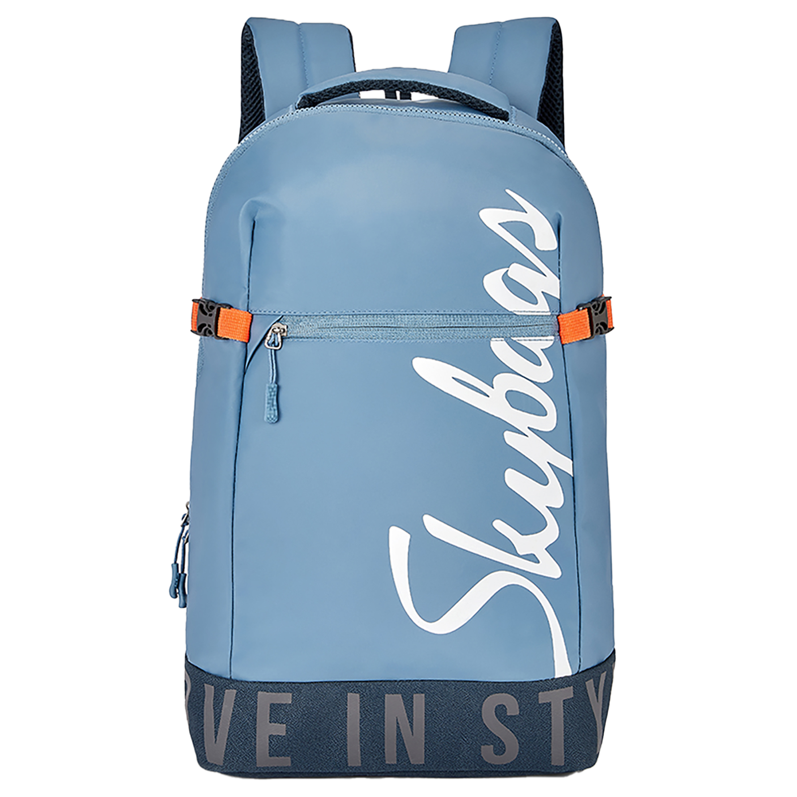 Sky Bags Boho 01 23 Litres Thermoplastic Elastomers Backpack (Rain Cover, BPBOH1RBLU, Blue)_1