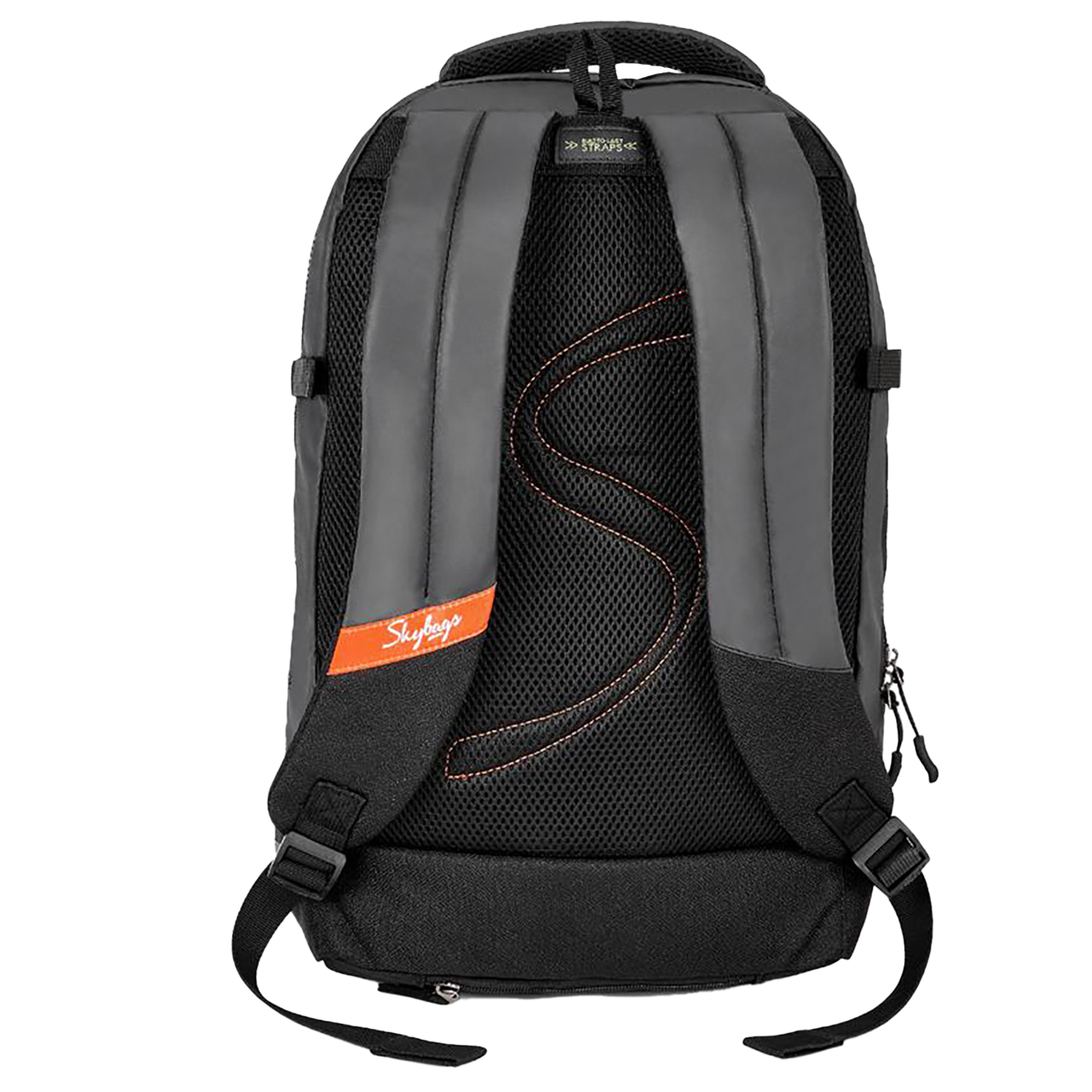 Sky Bags Boho 01 23 Litres Thermoplastic Elastomers Backpack (Rain Cover, BPBOH1RBLK, Black)_3