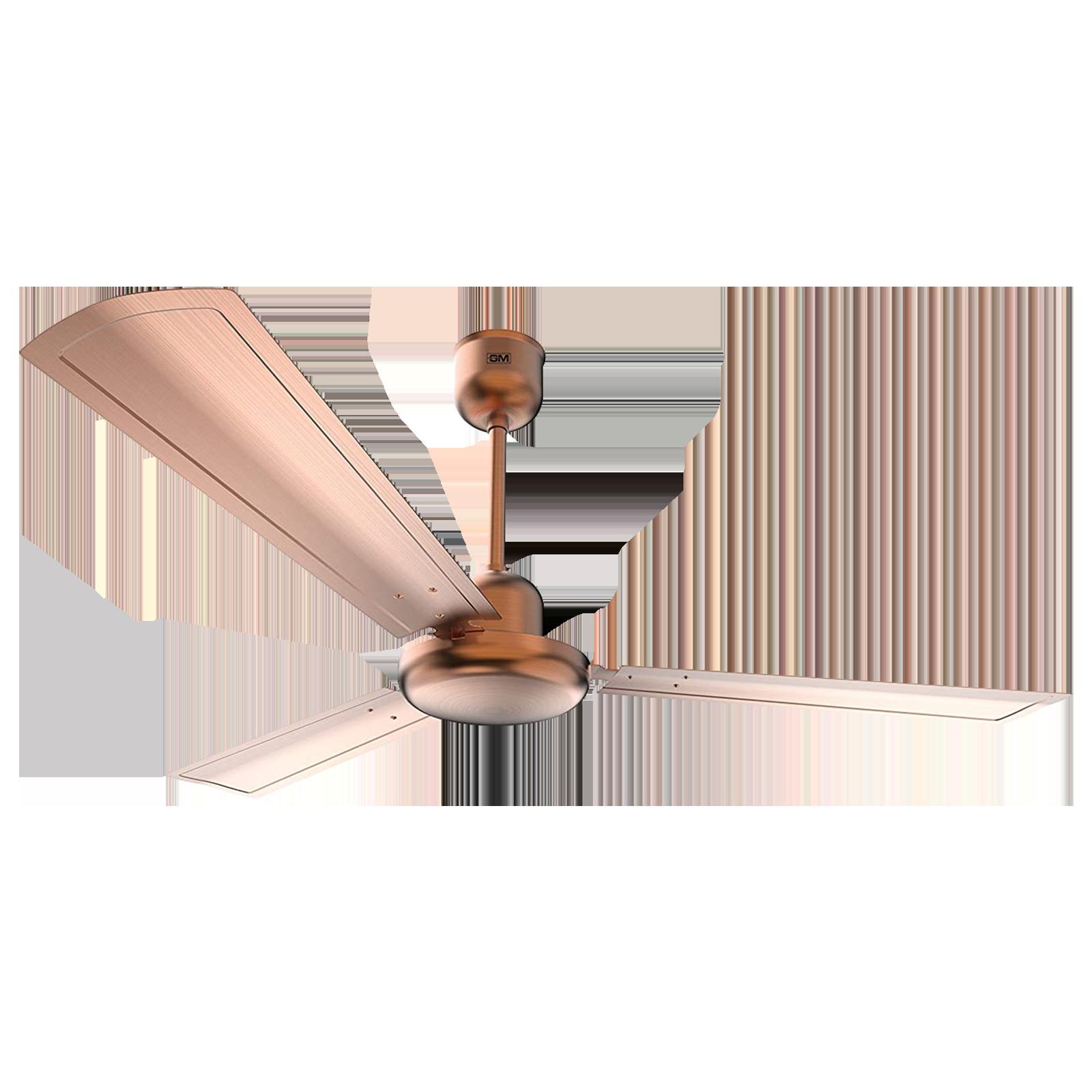GM Spencer 120 cm Sweep 3 Blade Ceiling Fan (Aerodynamically Designed Blades, CFP480012CUEP, Bronze)_1