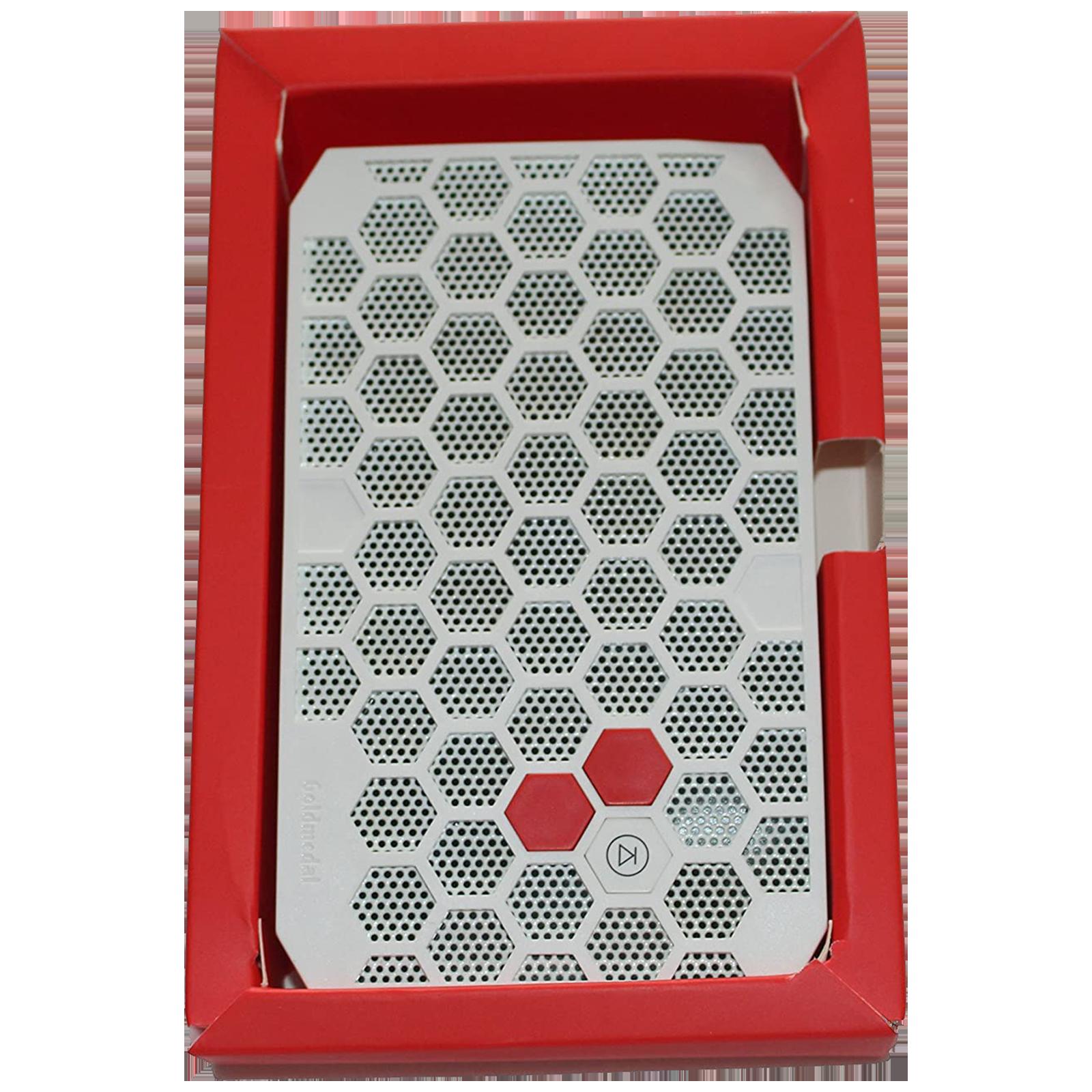 Goldmedal Buzy Bee Door Bell (Multitune, 204065, White/Red)_1