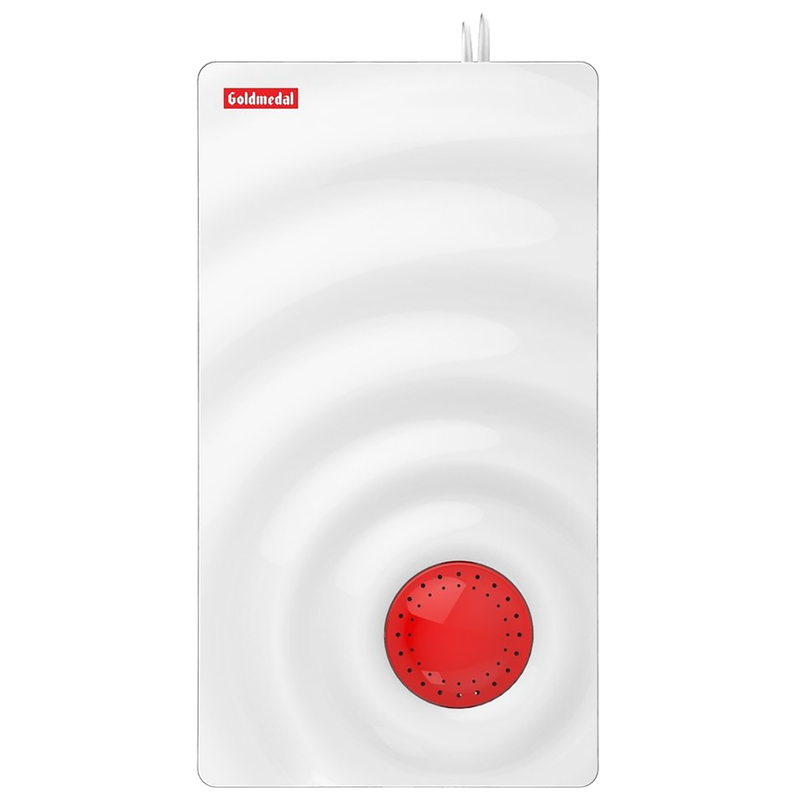 Goldmedal Curve Plus Ocean Door Bell (Stereophonic, 203048, White/Red)_1