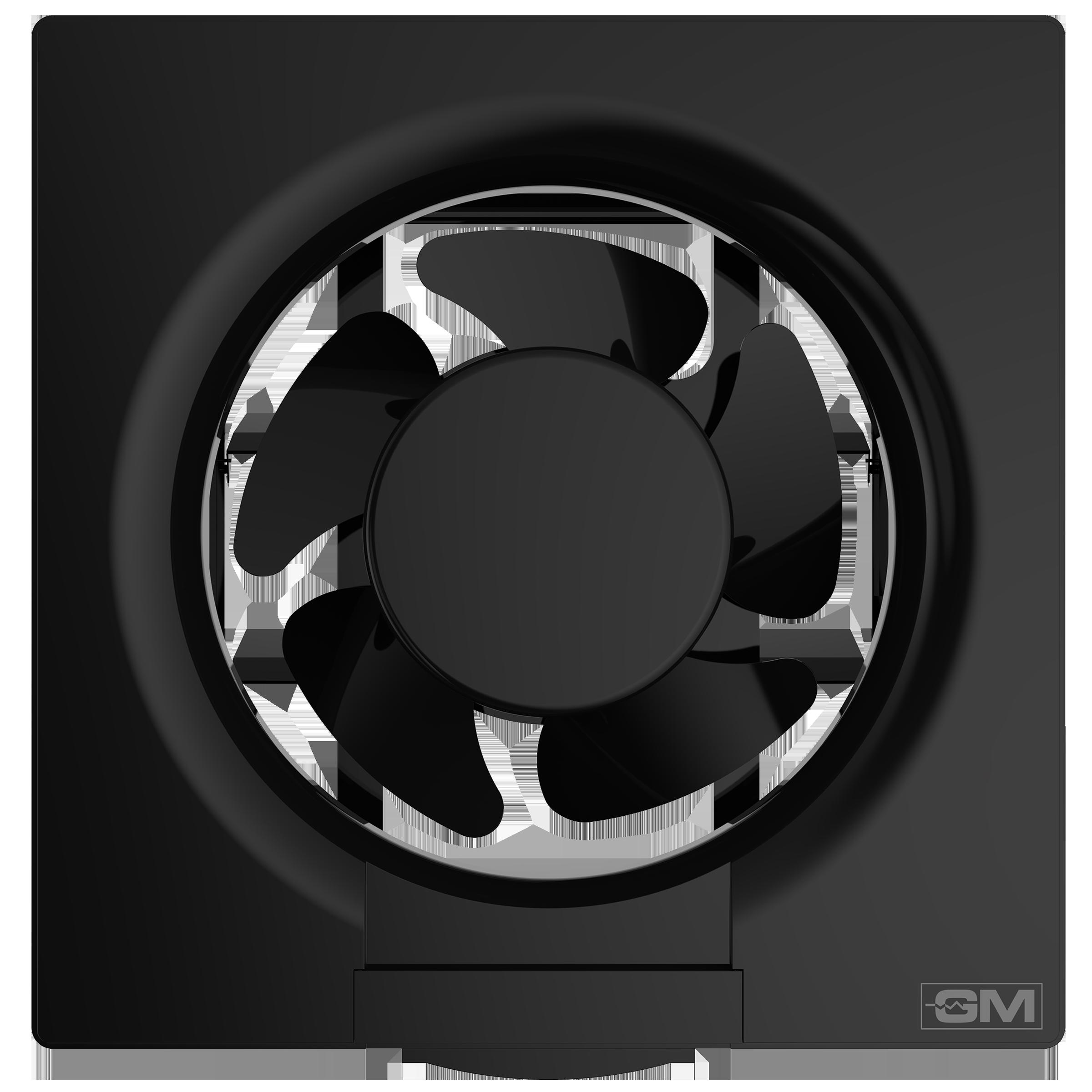 GM Eco Air 25 cm Sweep Exhaust Fan (Noiseless Fan, VFB100014BKGL, Black)_1
